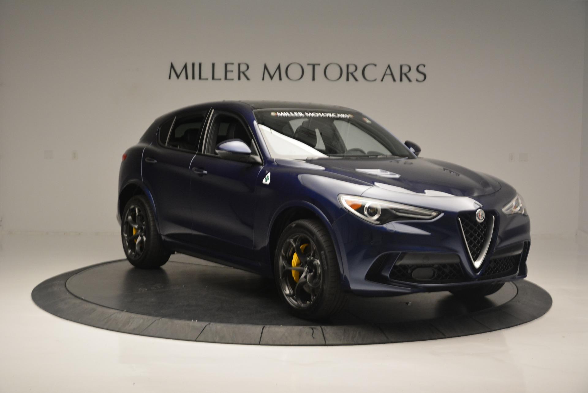 New 2018 Alfa Romeo Stelvio Quadrifoglio For Sale In Westport, CT 2458_p11