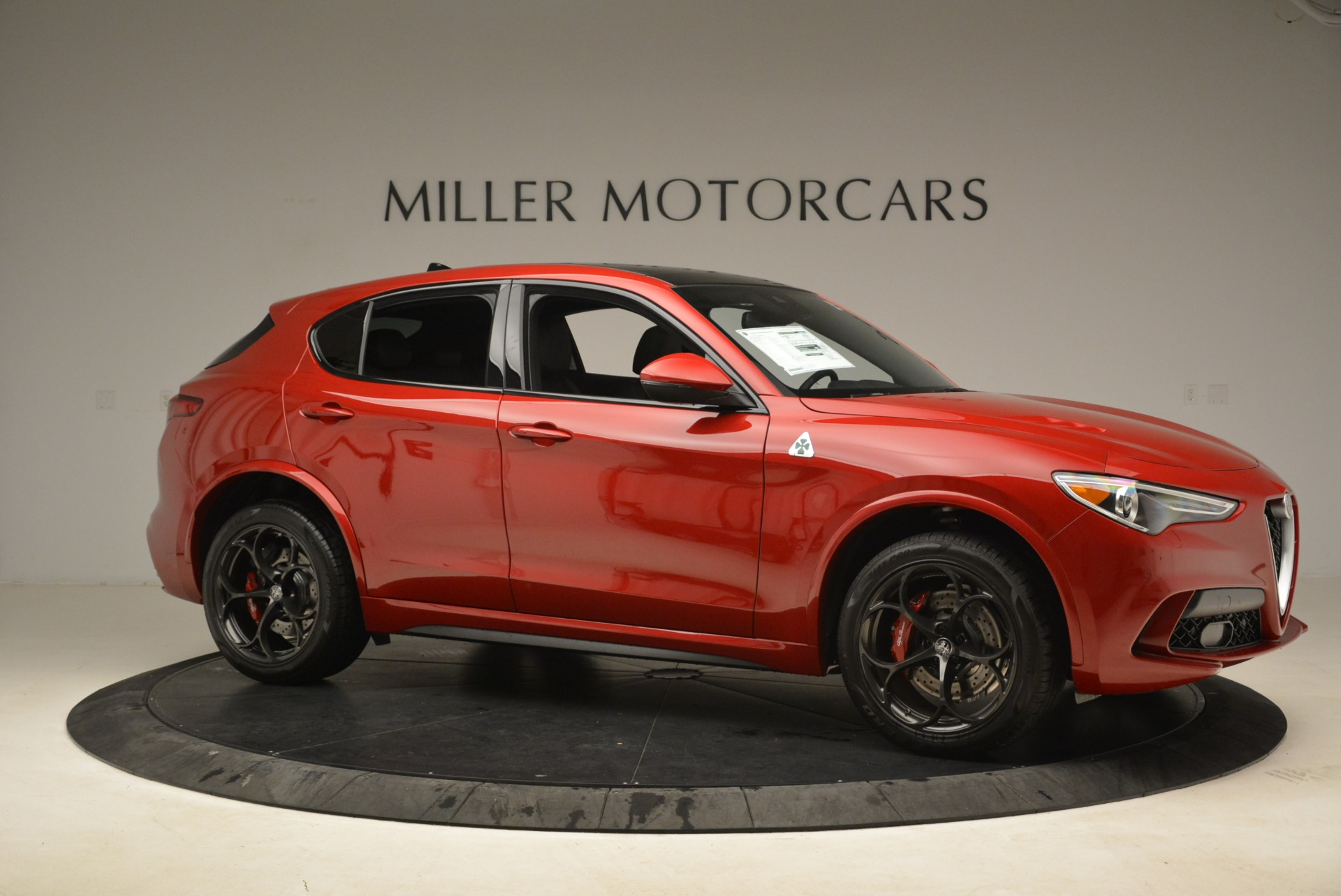 New 2018 Alfa Romeo Stelvio Quadrifoglio For Sale In Westport, CT 2459_p10