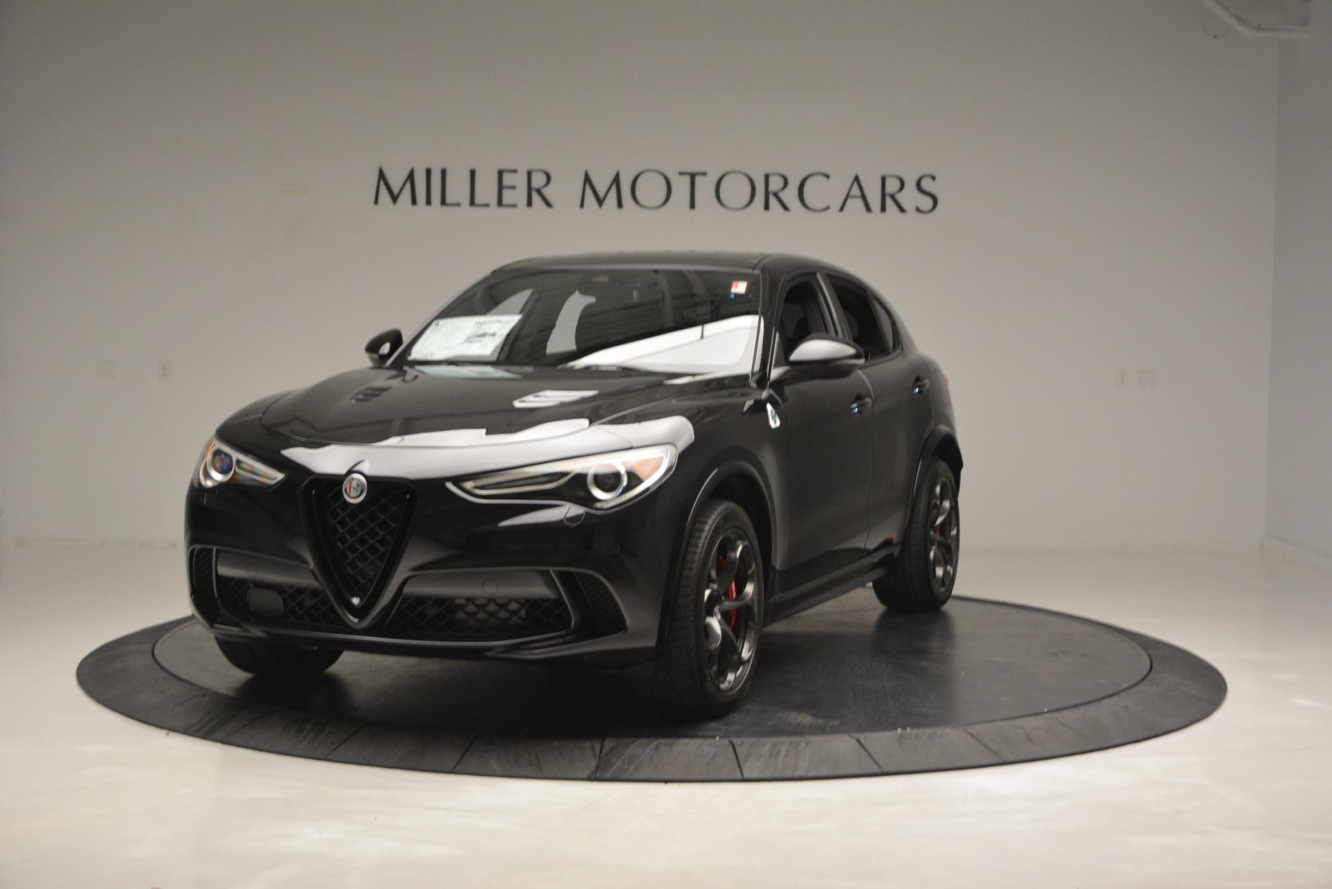 New 2018 Alfa Romeo Stelvio Quadrifoglio For Sale In Westport, CT 2460_main