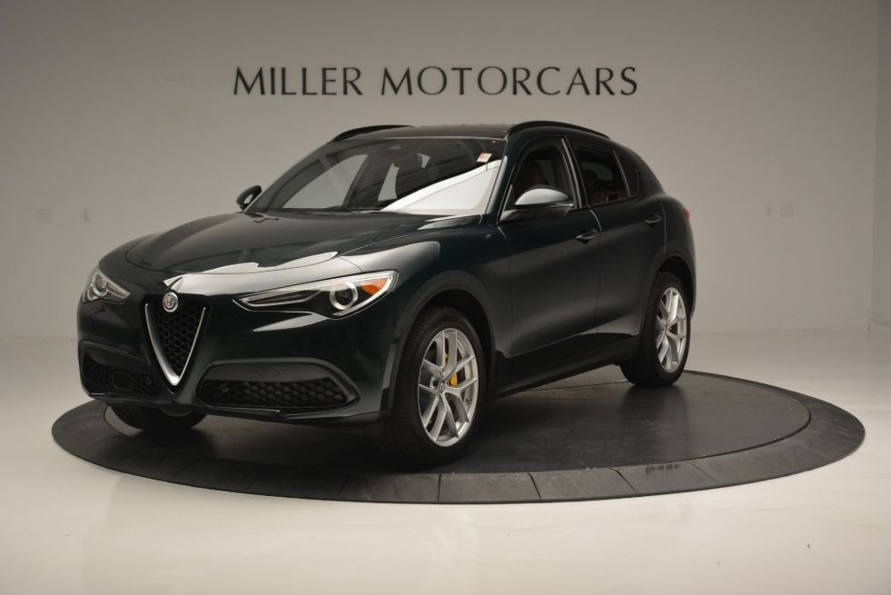 New 2018 Alfa Romeo Stelvio Ti Sport Q4 For Sale In Westport, CT 2471_p2