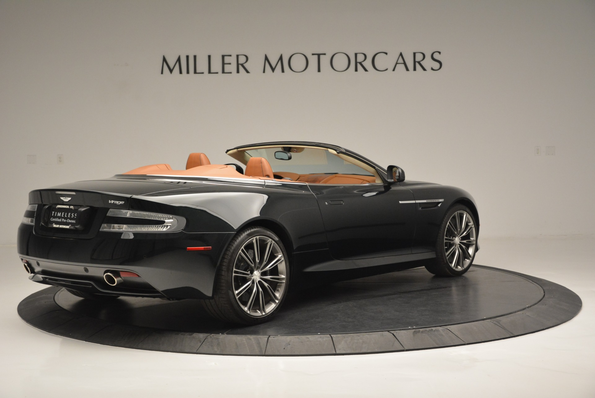 Used 2012 Aston Martin Virage Volante For Sale In Westport, CT 2508_p8