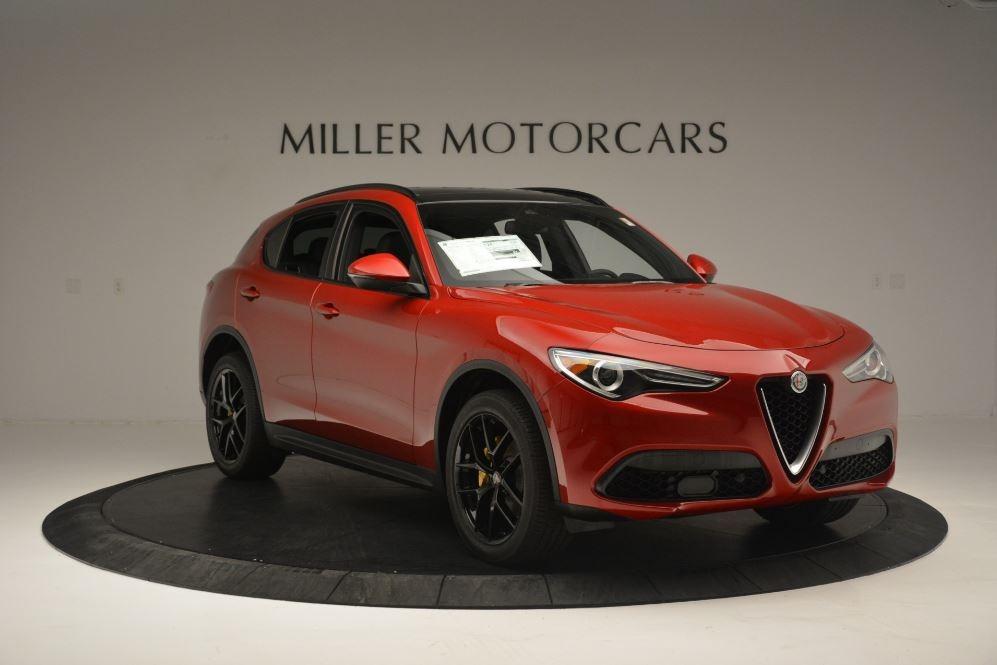 New 2018 Alfa Romeo Stelvio Ti Sport Q4 For Sale In Westport, CT 2512_p11