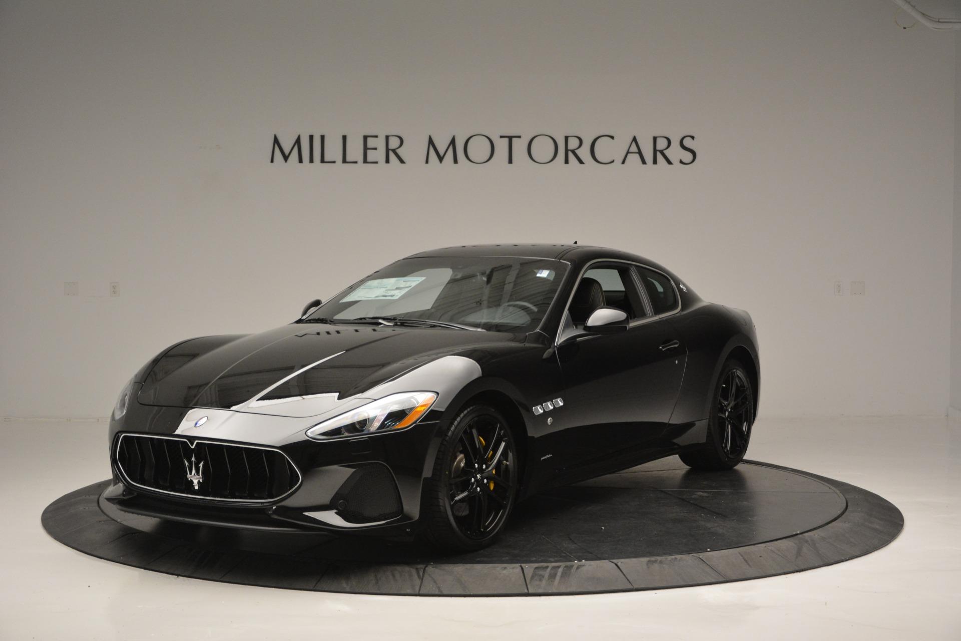 New 2018 Maserati GranTurismo Sport For Sale In Westport, CT 2513_main