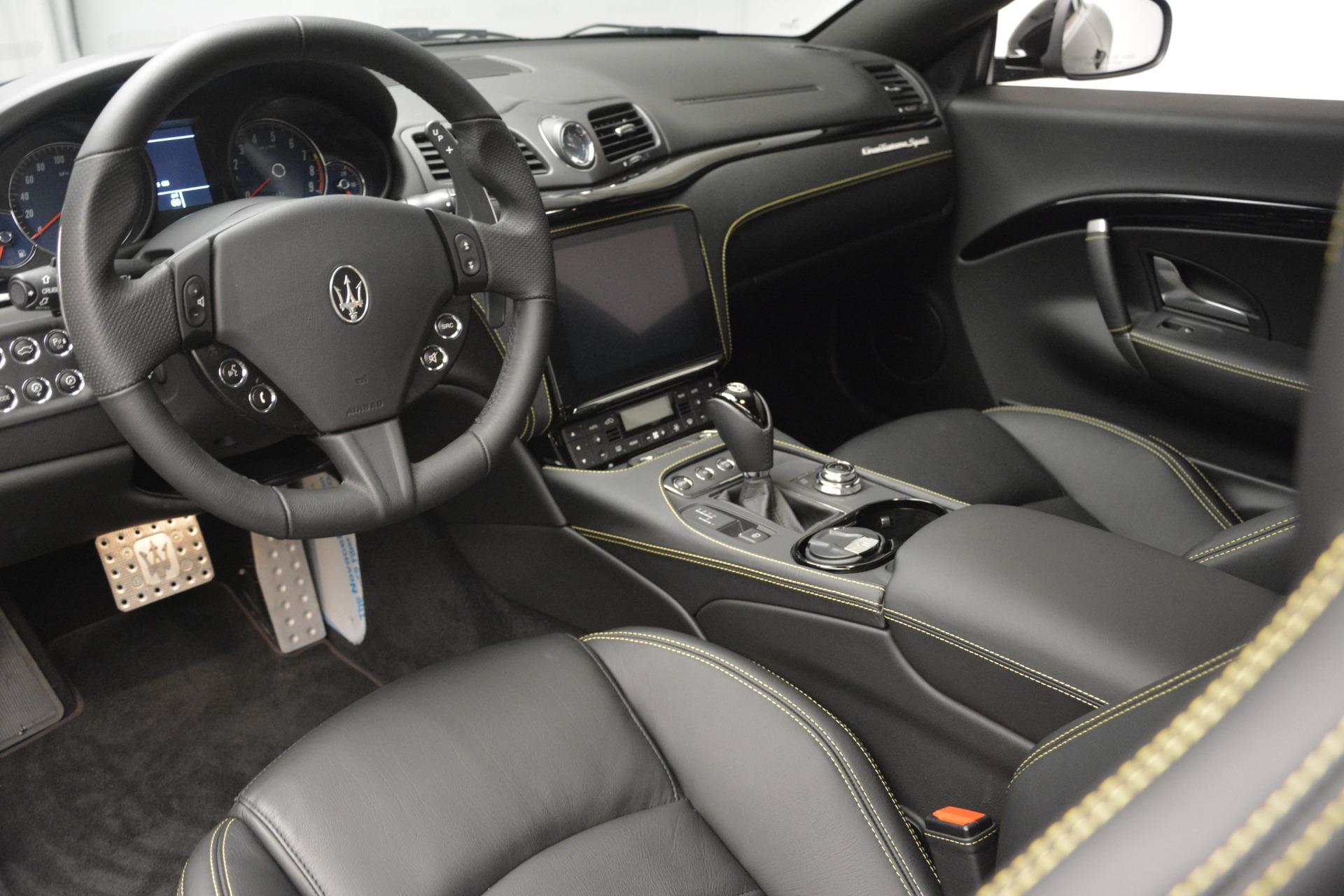 New 2018 Maserati GranTurismo Sport For Sale In Westport, CT 2513_p13
