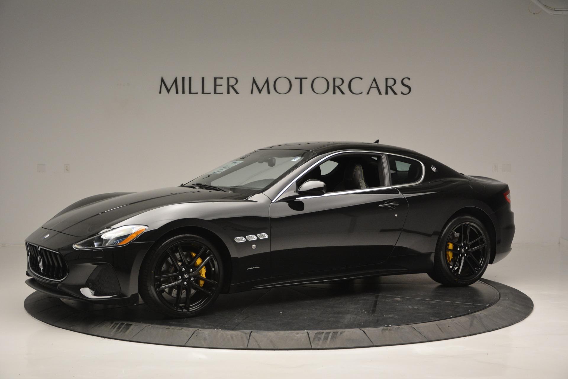 New 2018 Maserati GranTurismo Sport For Sale In Westport, CT 2513_p2