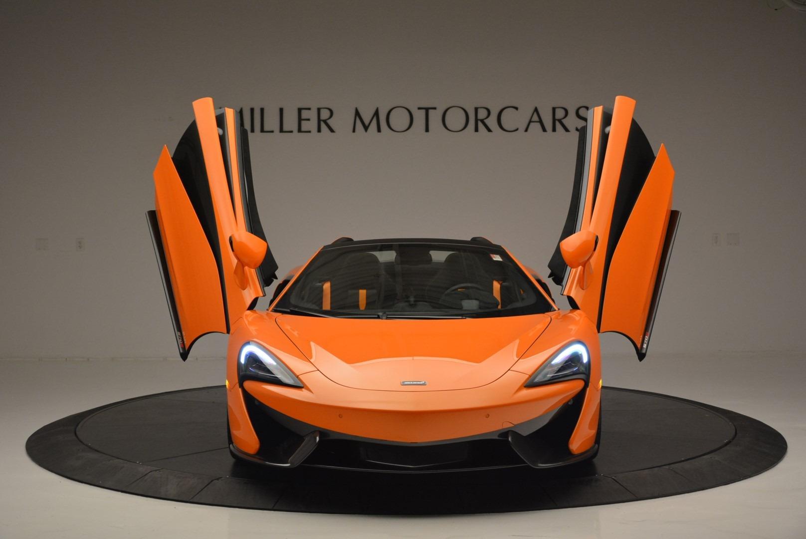 New 2019 McLaren 570S Spider Convertible For Sale In Westport, CT 2520_p13
