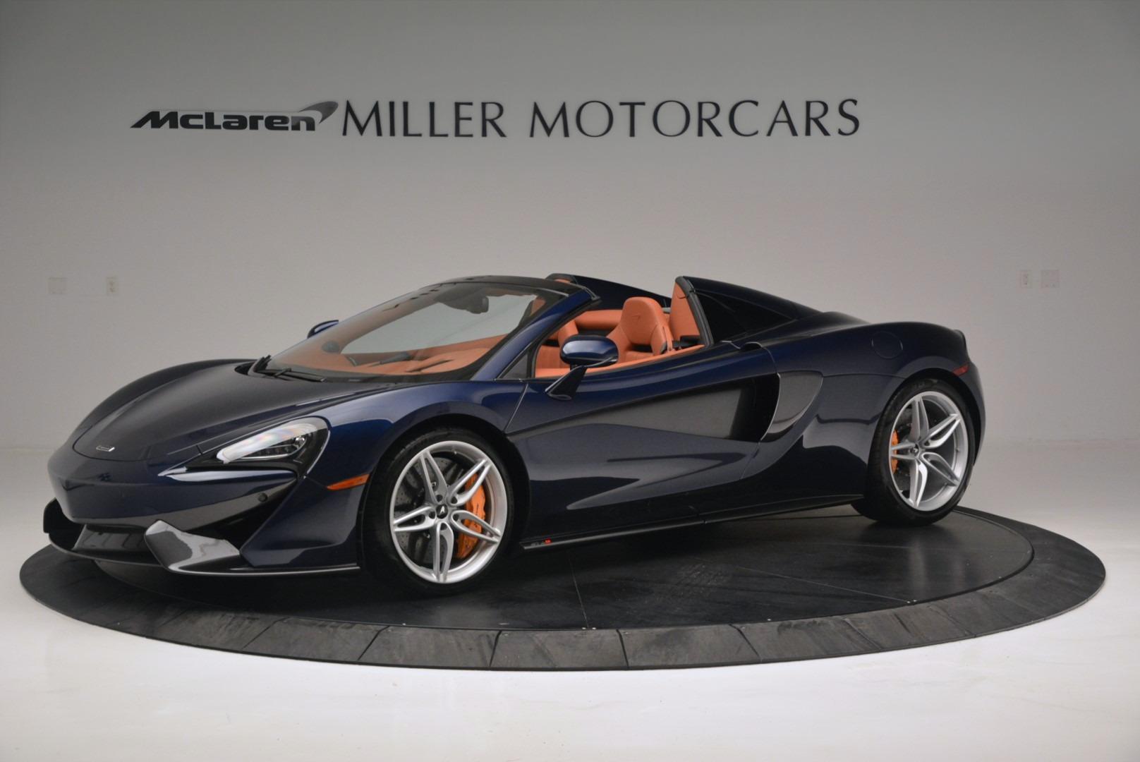 New 2019 McLaren 570S Spider Convertible For Sale In Westport, CT 2521_main