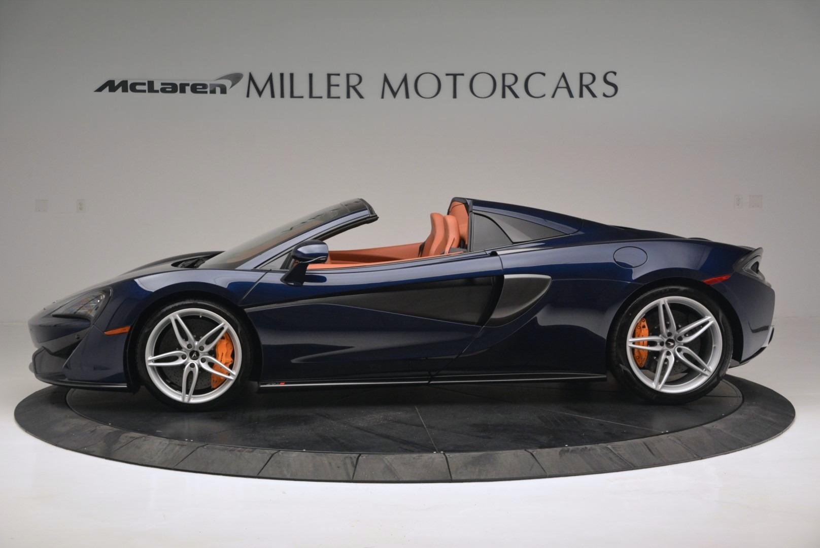 New 2019 McLaren 570S Spider Convertible For Sale In Westport, CT 2521_p3