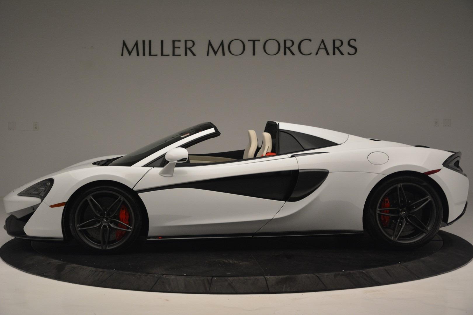 New 2019 McLaren 570S Spider Convertible For Sale In Westport, CT 2523_p3
