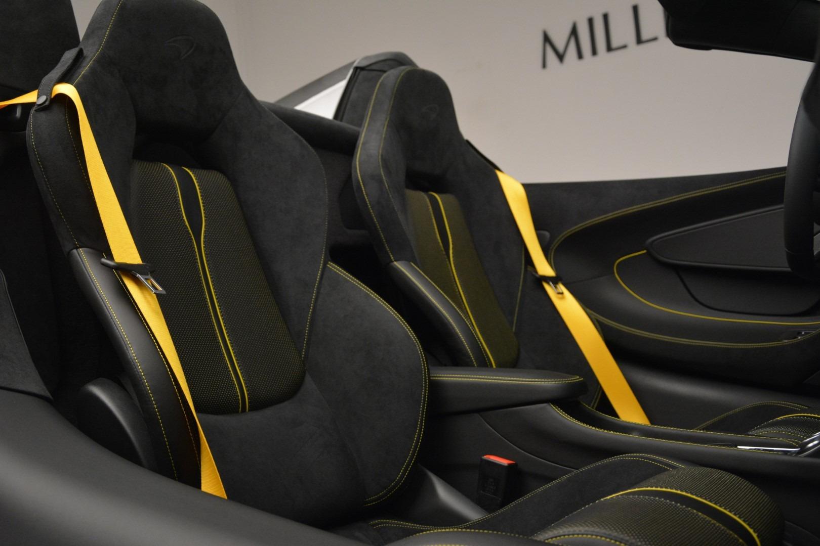 New 2019 McLaren 570S Spider Convertible For Sale In Westport, CT 2526_p27