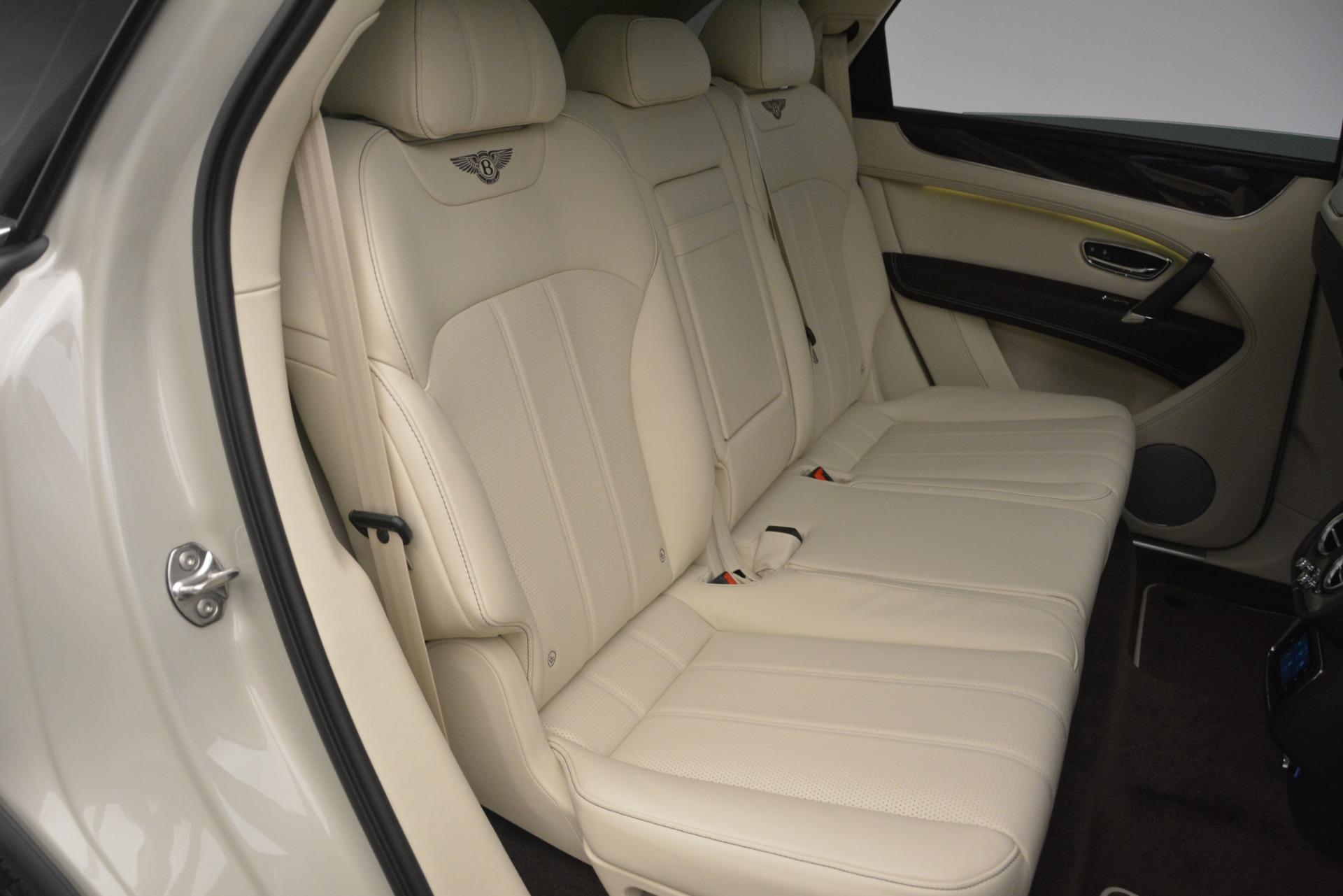 New 2019 Bentley Bentayga V8 For Sale In Westport, CT 2538_p29