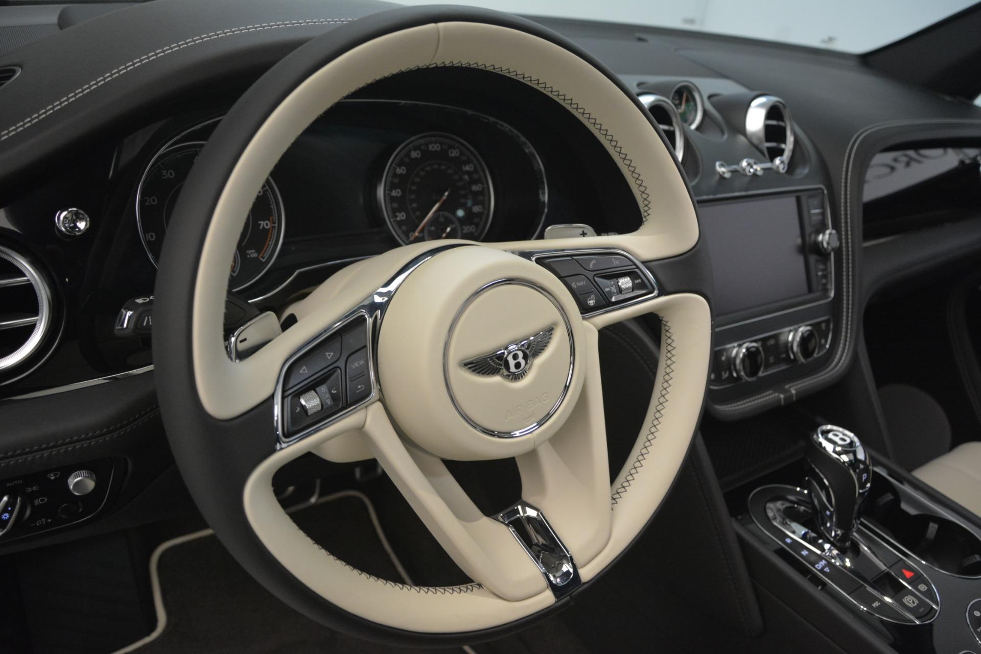 New 2019 Bentley Bentayga V8 For Sale In Westport, CT 2550_p22