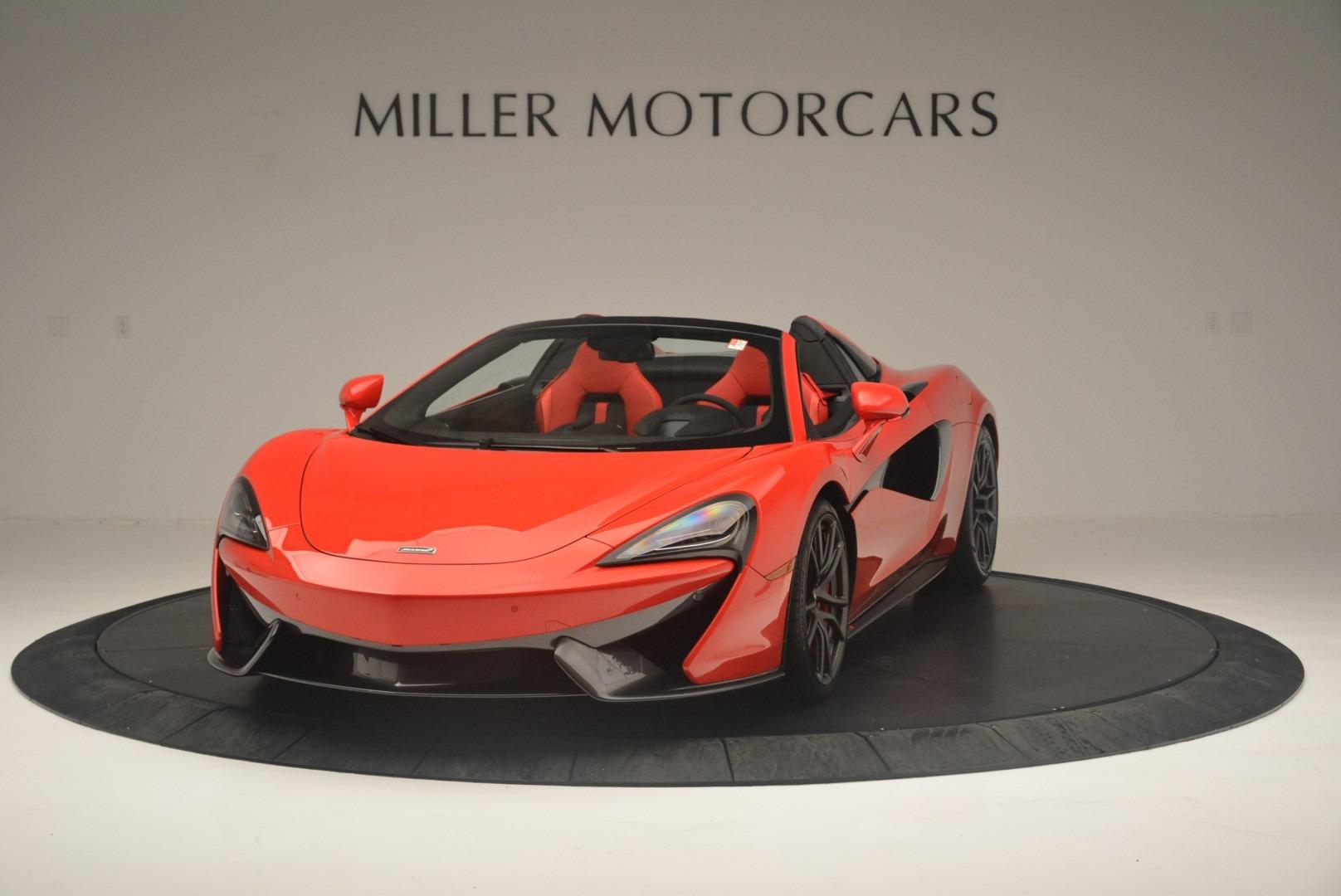 New 2019 McLaren 570S Spider Convertible For Sale In Westport, CT 2564_p2