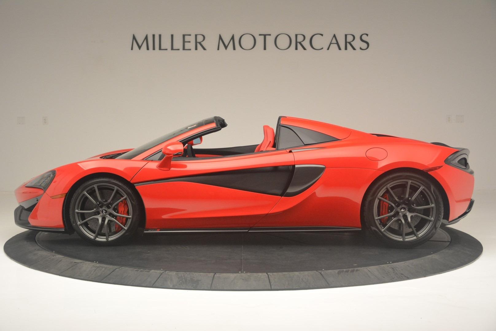 New 2019 McLaren 570S Spider Convertible For Sale In Westport, CT 2564_p3