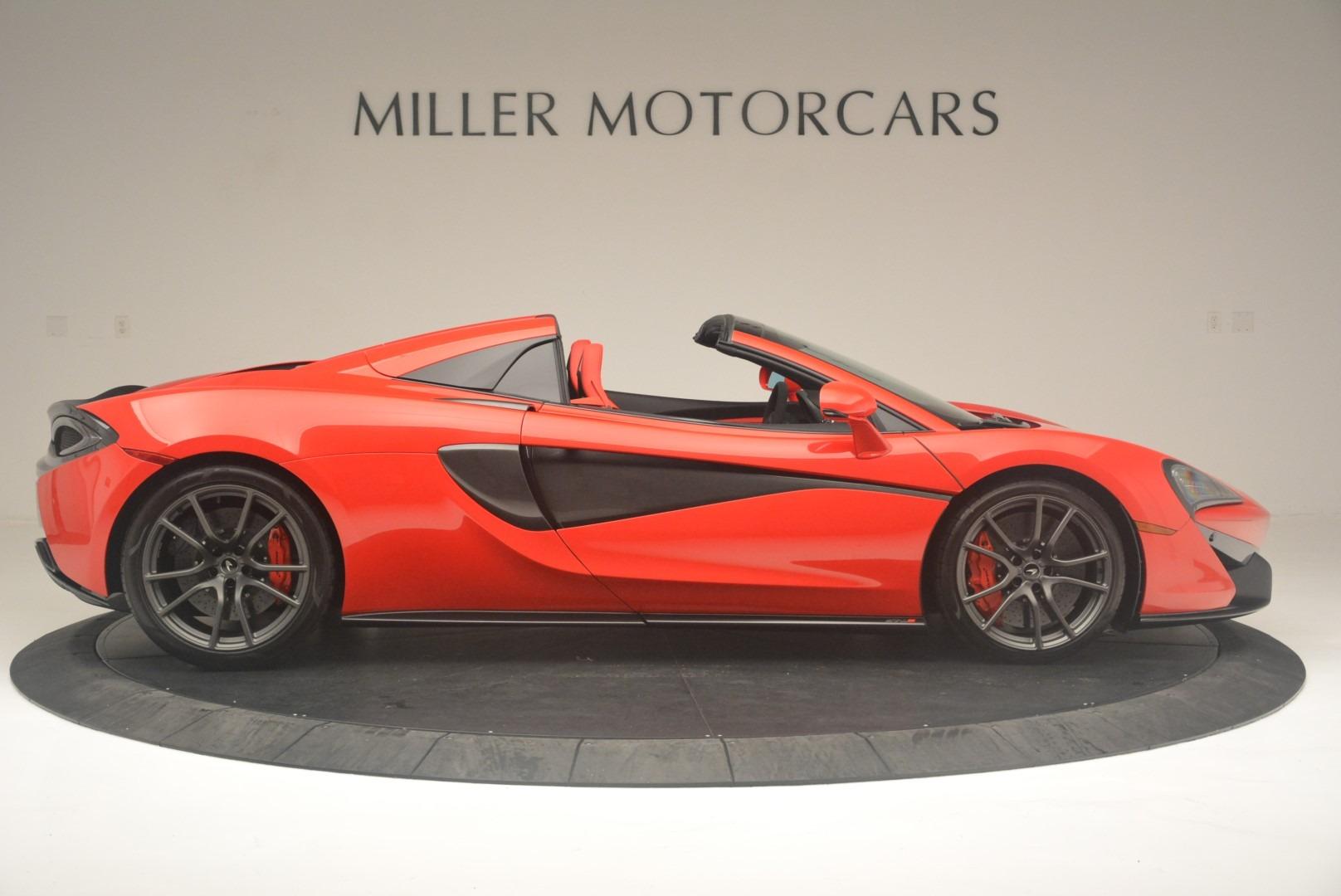 New 2019 McLaren 570S Spider Convertible For Sale In Westport, CT 2564_p9