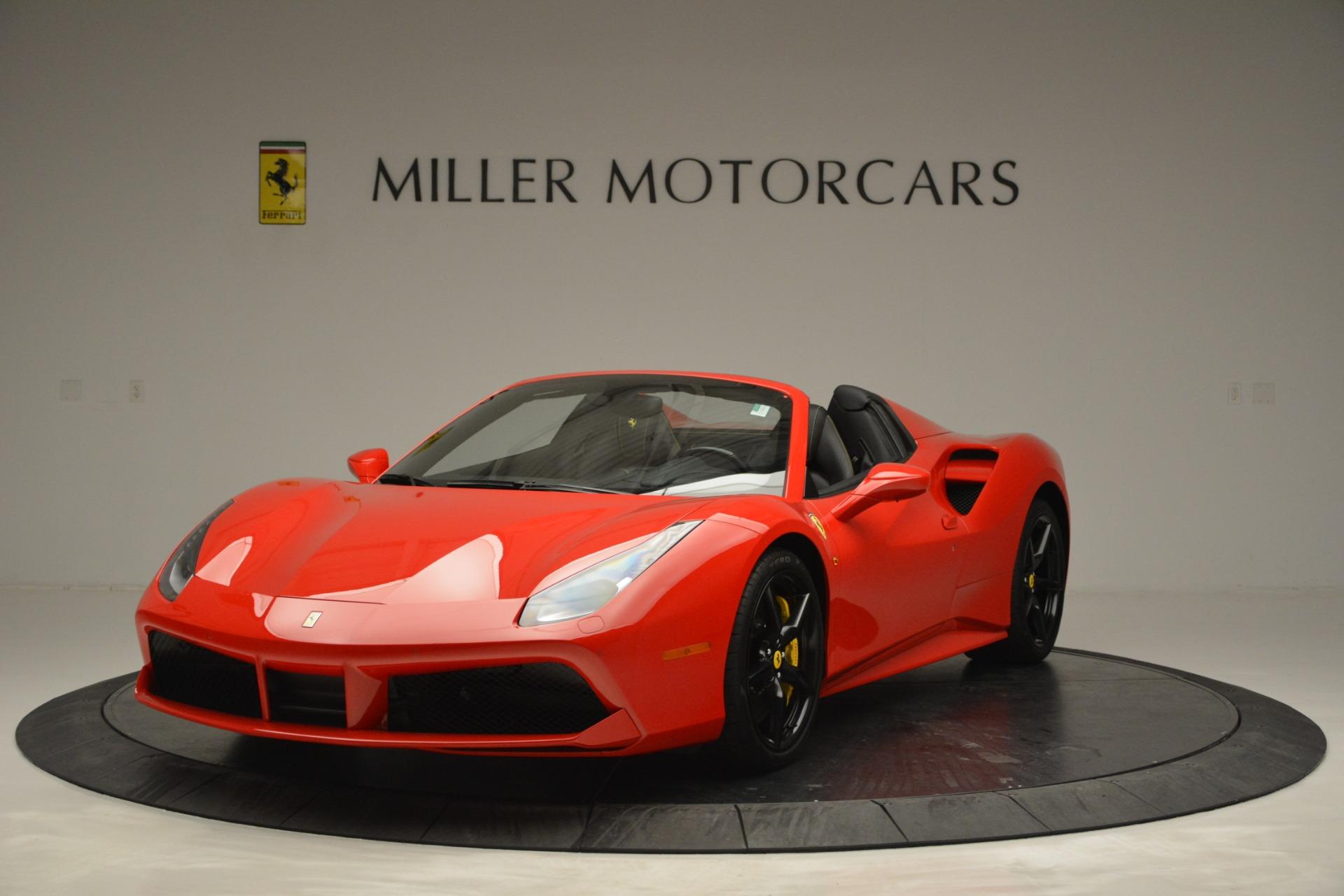 Used 2018 Ferrari 488 Spider  For Sale In Westport, CT 2570_main