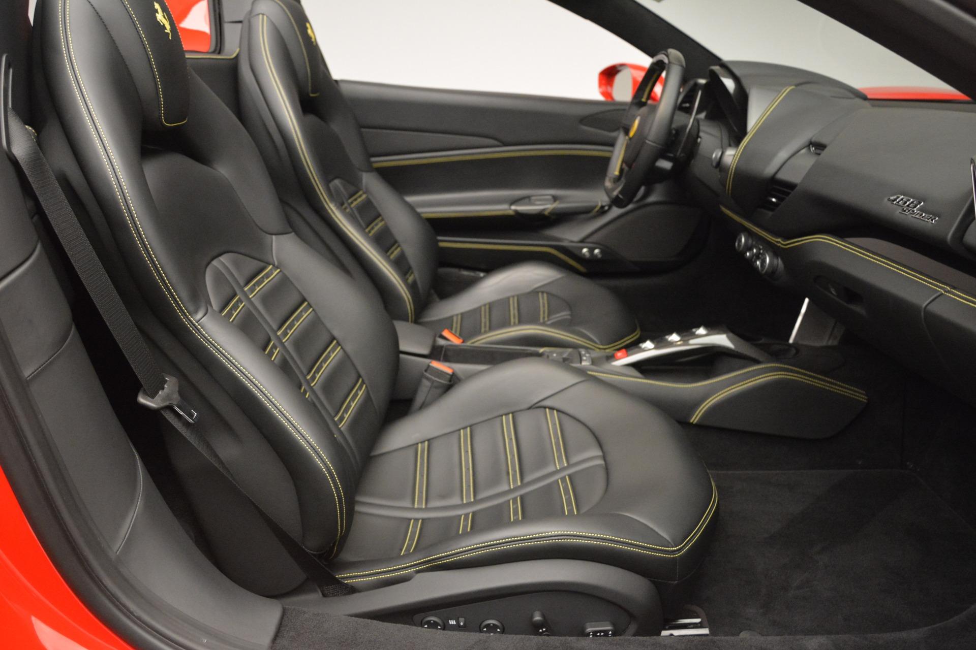 Used 2018 Ferrari 488 Spider  For Sale In Westport, CT 2570_p30