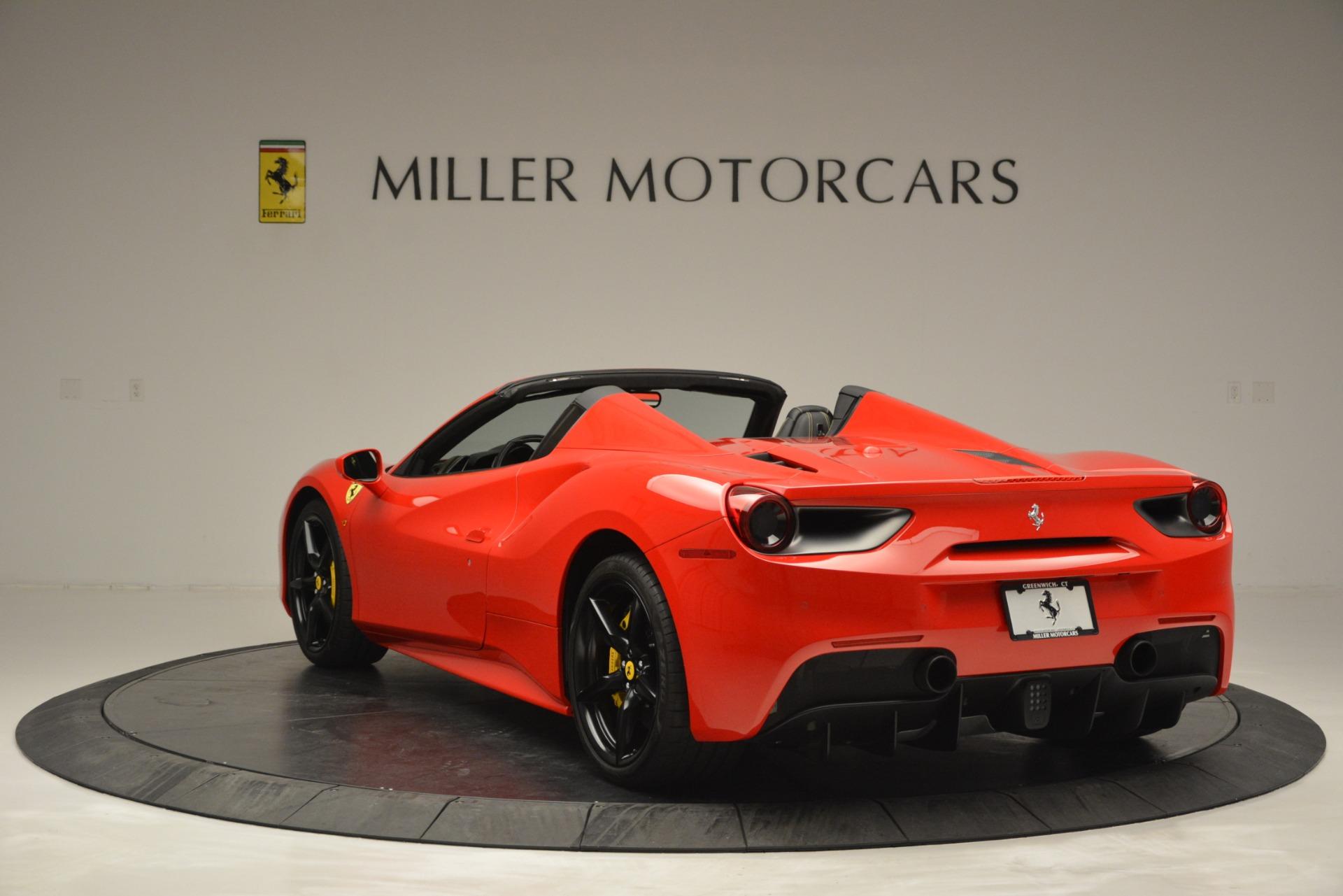 Used 2018 Ferrari 488 Spider  For Sale In Westport, CT 2570_p5