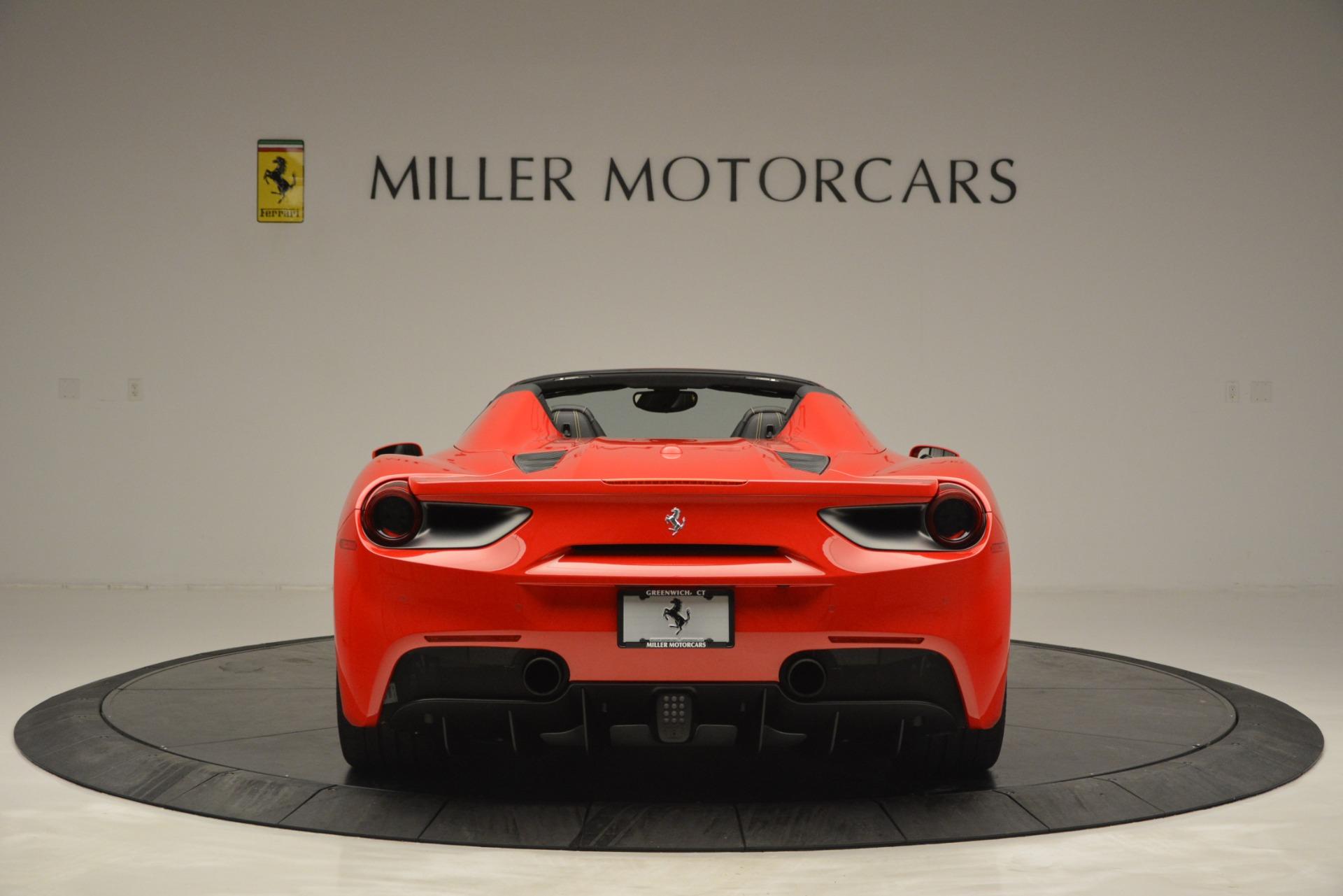 Used 2018 Ferrari 488 Spider  For Sale In Westport, CT 2570_p6