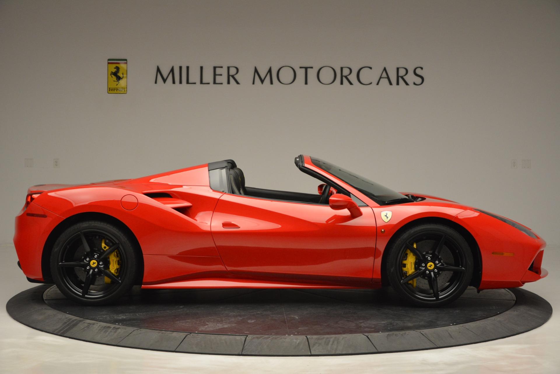 Used 2018 Ferrari 488 Spider  For Sale In Westport, CT 2570_p9
