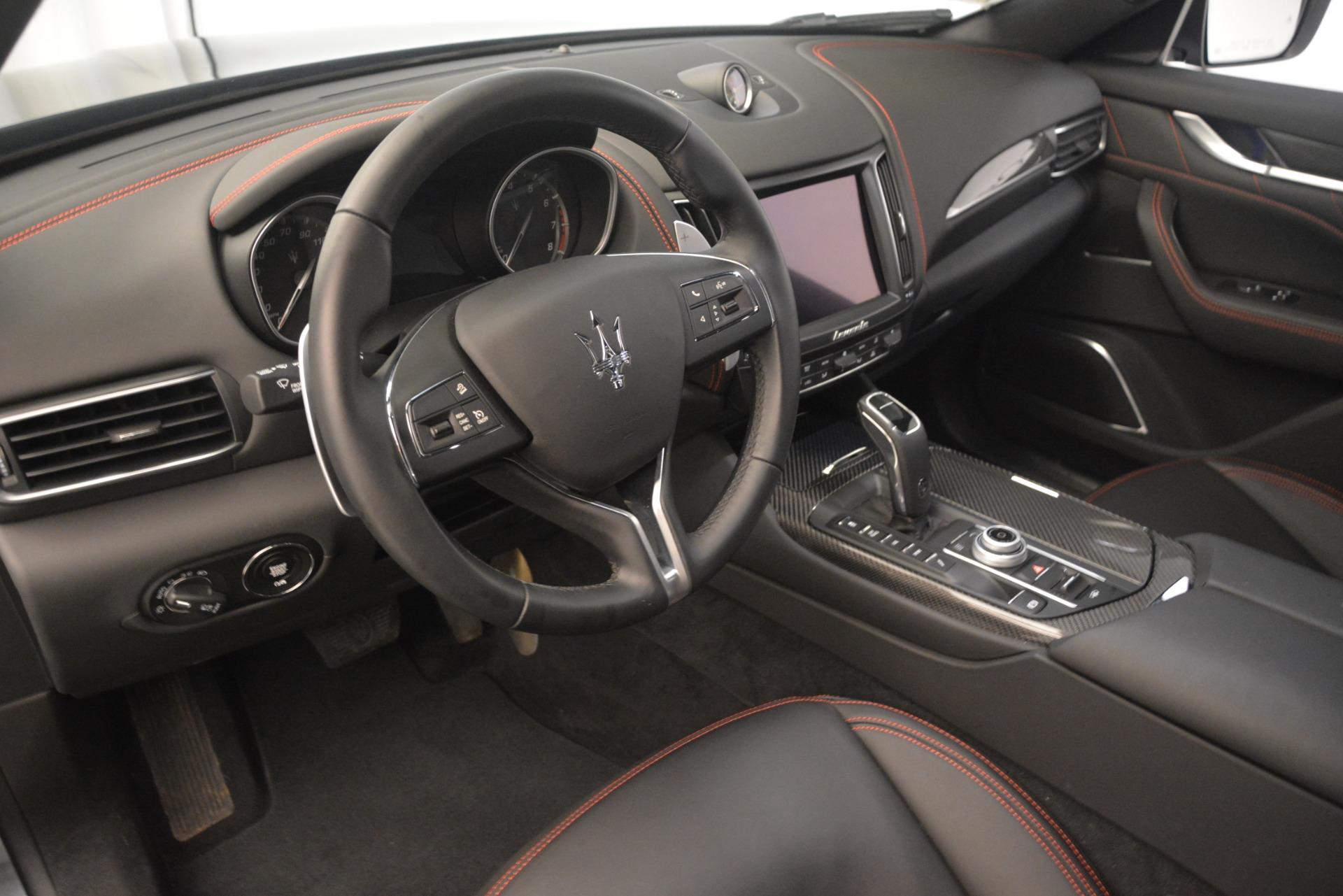New 2019 Maserati Levante Q4 GranLusso For Sale In Westport, CT 2580_p13