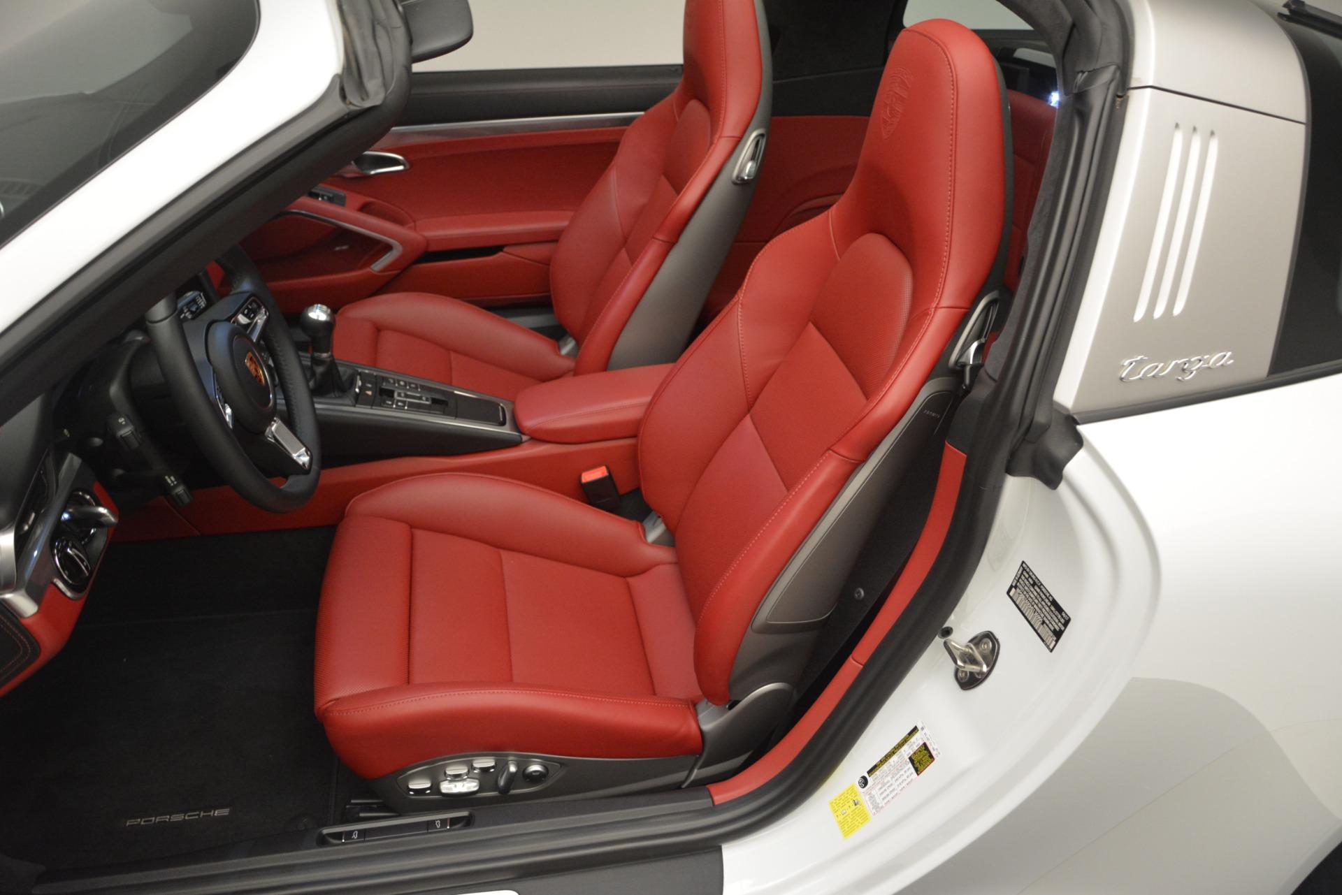 Used 2017 Porsche 911 Targa 4S For Sale In Westport, CT 2593_p12