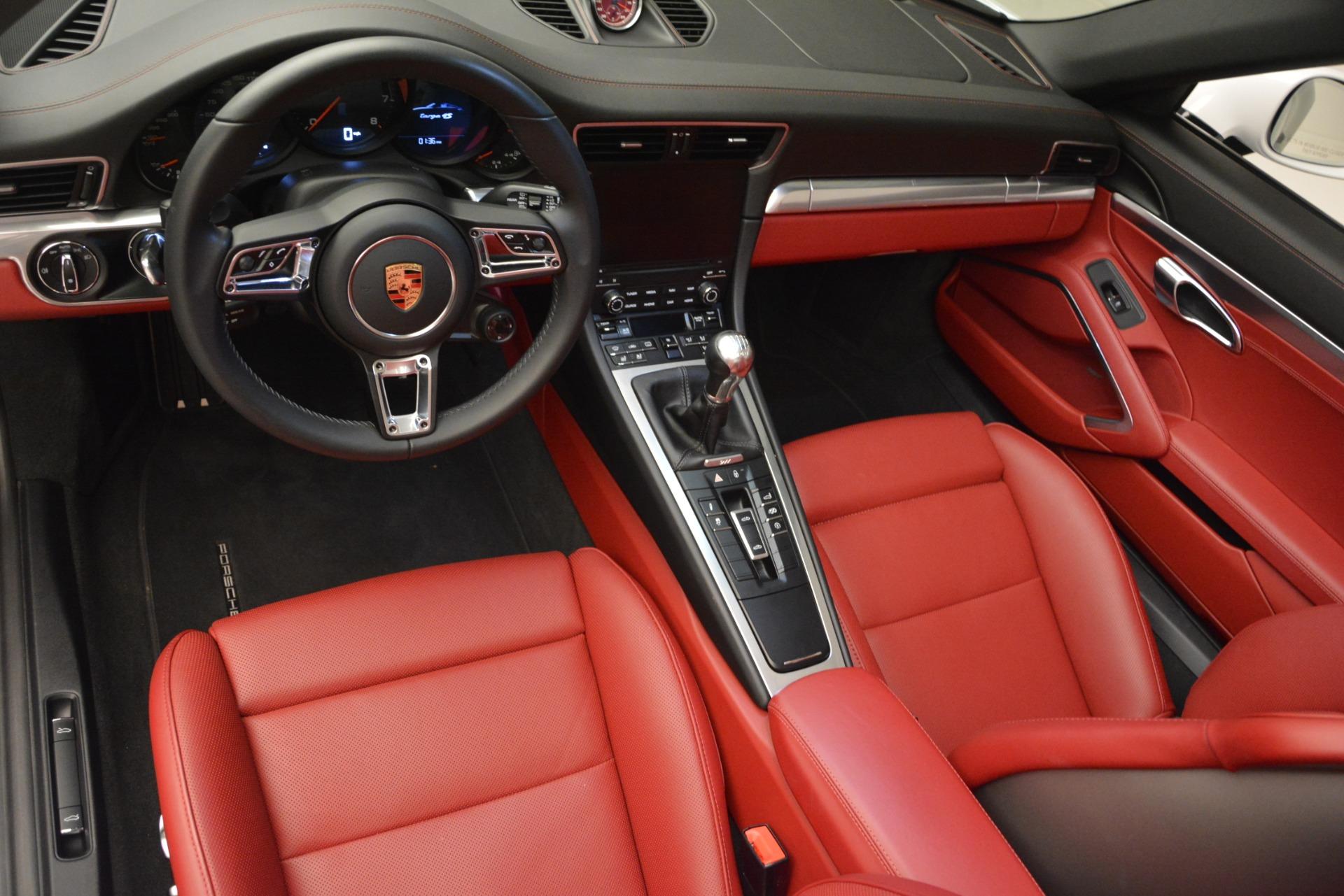 Used 2017 Porsche 911 Targa 4S For Sale In Westport, CT 2593_p13