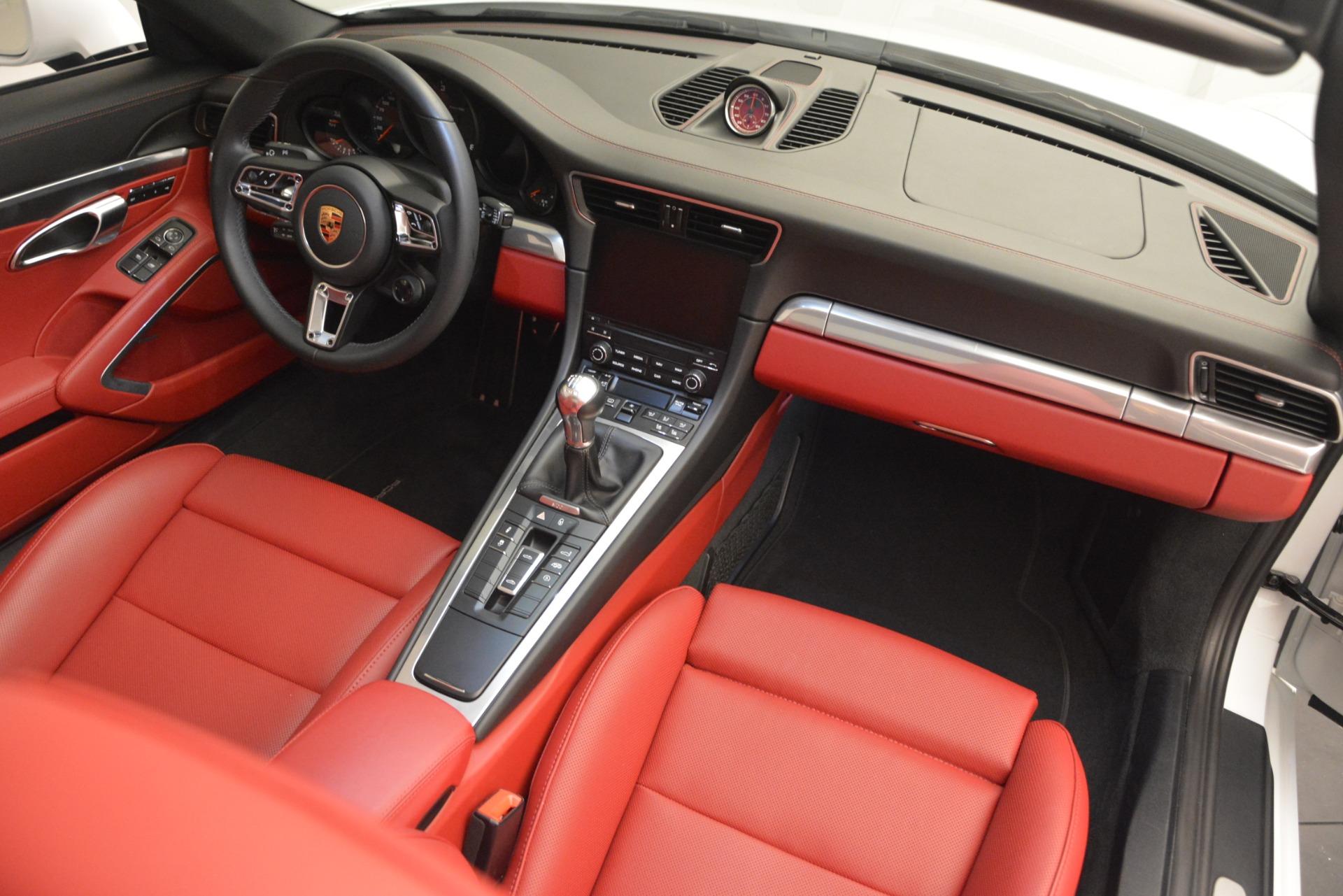 Used 2017 Porsche 911 Targa 4S For Sale In Westport, CT 2593_p21