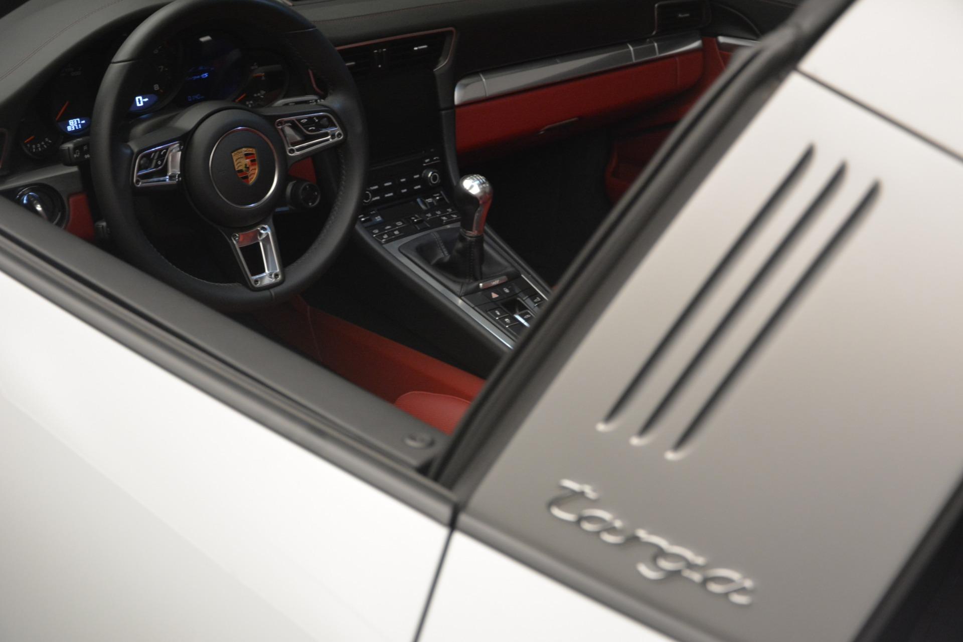 Used 2017 Porsche 911 Targa 4S For Sale In Westport, CT 2593_p22