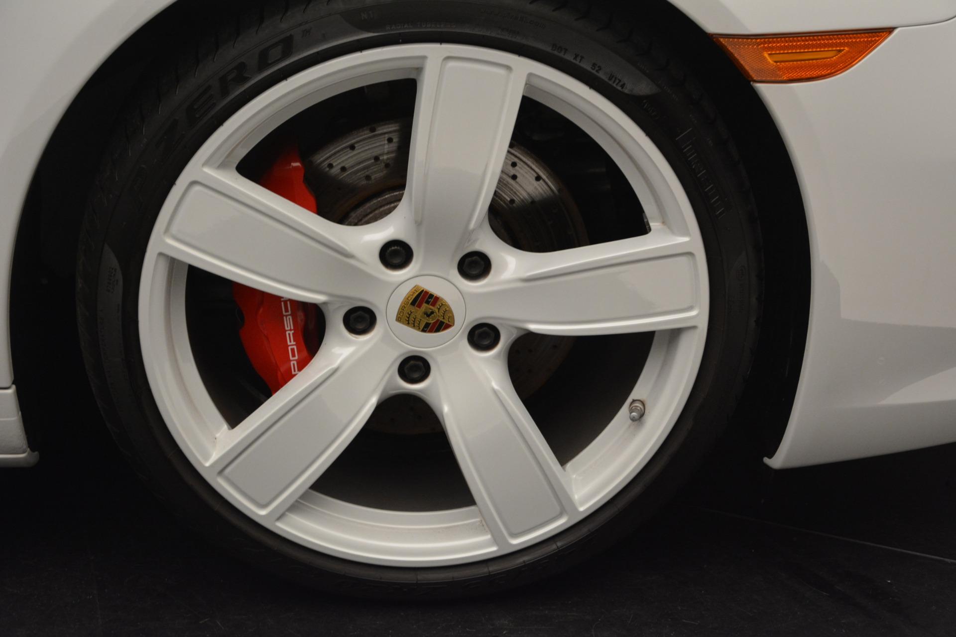 Used 2017 Porsche 911 Targa 4S For Sale In Westport, CT 2593_p24