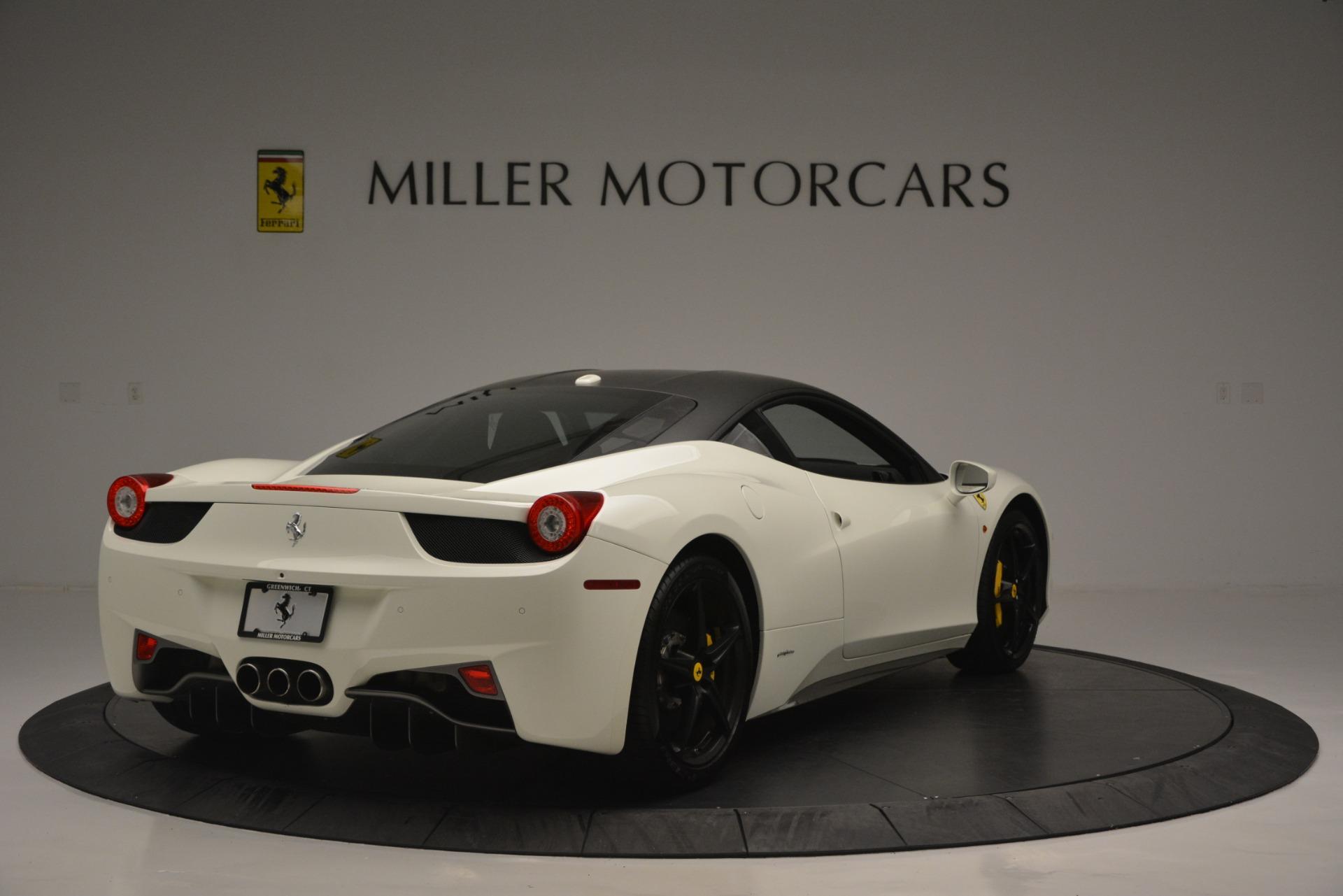 Used 2010 Ferrari 458 Italia  For Sale In Westport, CT 2602_p7