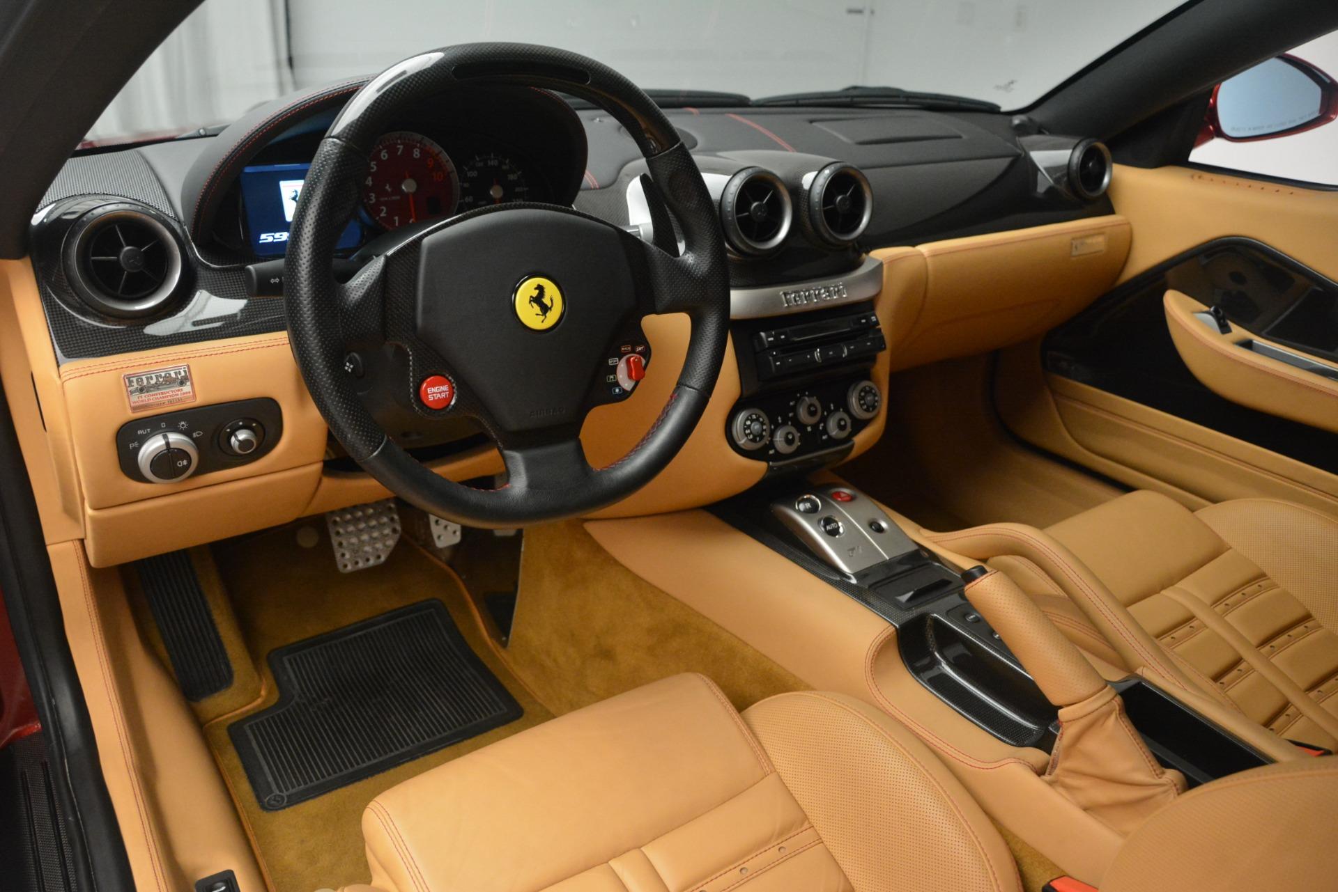 Used 2009 Ferrari 599 GTB Fiorano  For Sale In Westport, CT 2617_p13