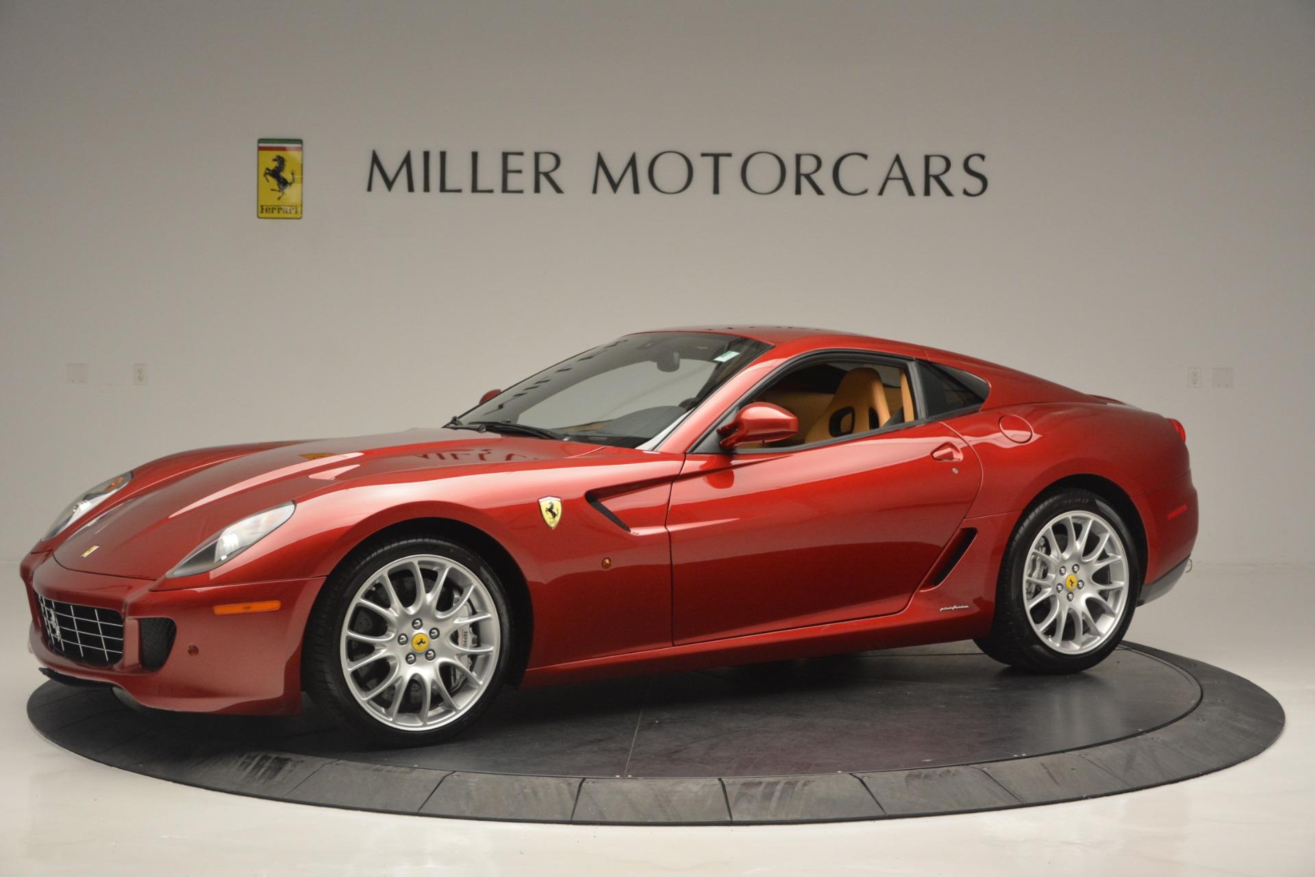 Used 2009 Ferrari 599 GTB Fiorano  For Sale In Westport, CT 2617_p2