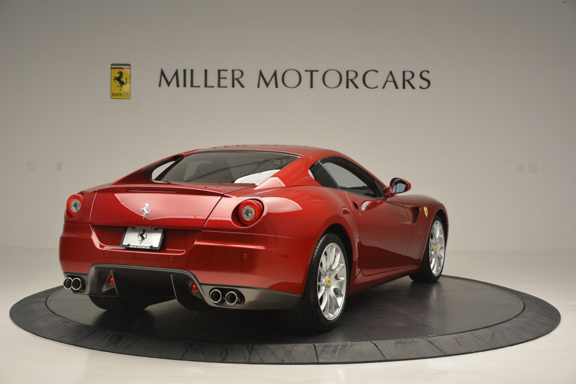 Used 2009 Ferrari 599 GTB Fiorano  For Sale In Westport, CT 2617_p7
