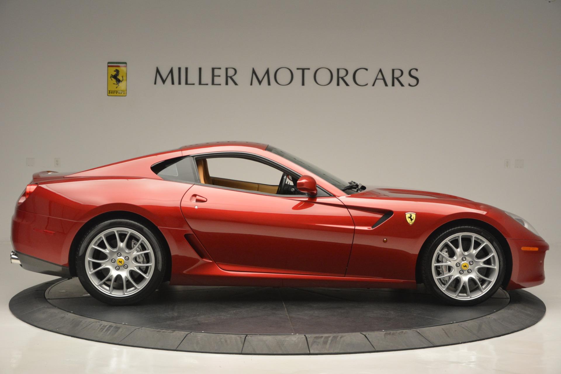 Used 2009 Ferrari 599 GTB Fiorano  For Sale In Westport, CT 2617_p9