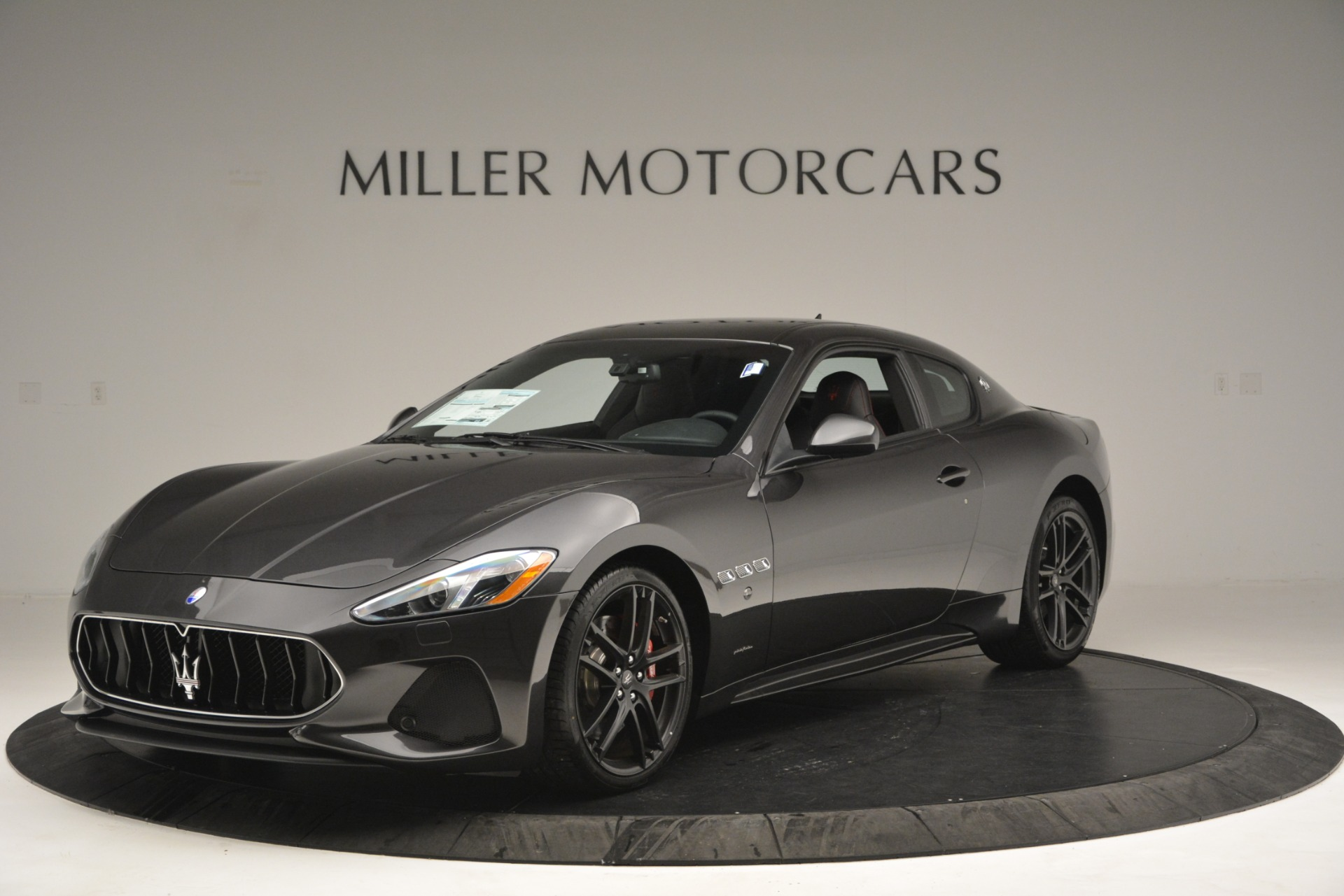 New 2018 Maserati GranTurismo Sport For Sale In Westport, CT 2621_main