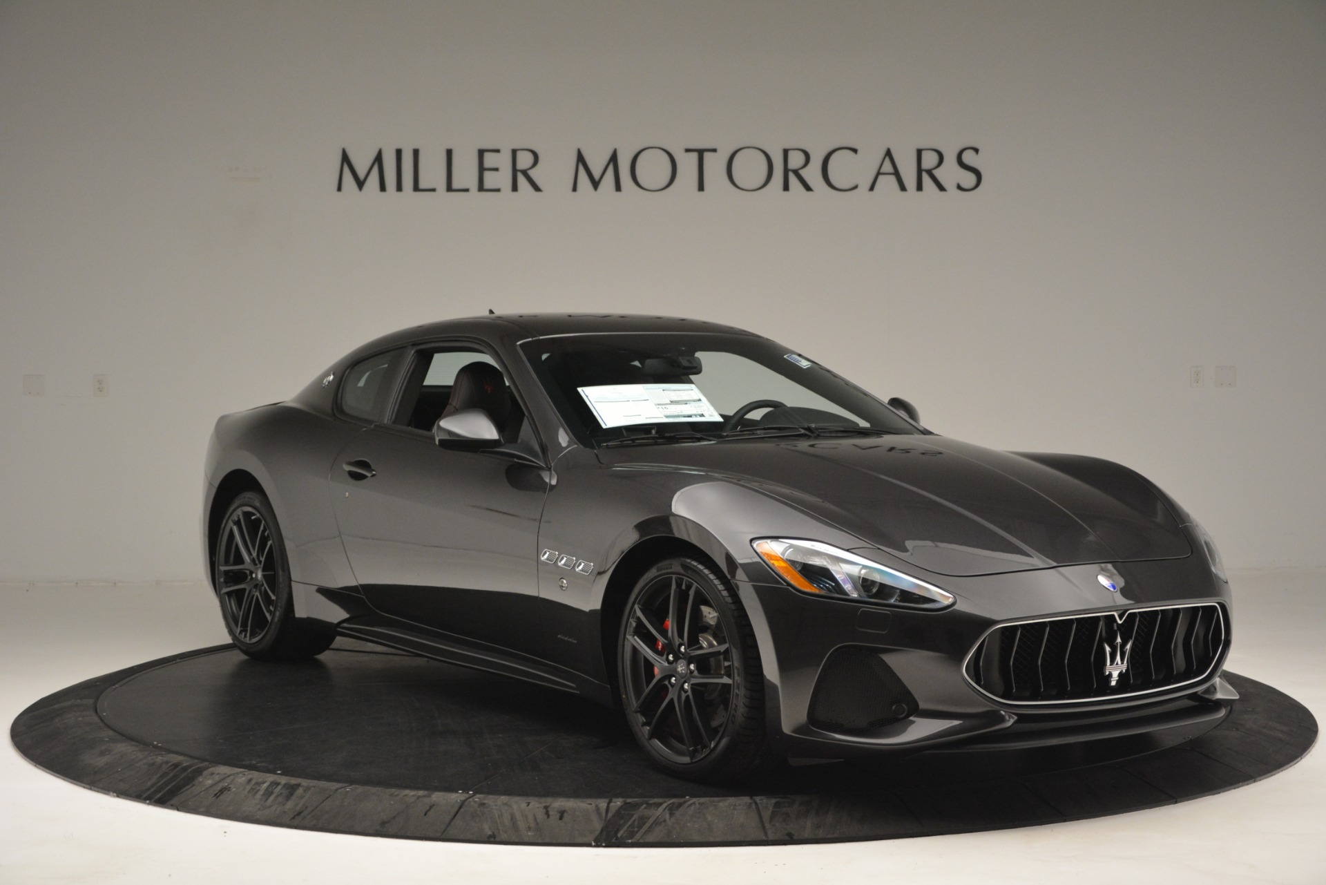 New 2018 Maserati GranTurismo Sport For Sale In Westport, CT 2621_p10