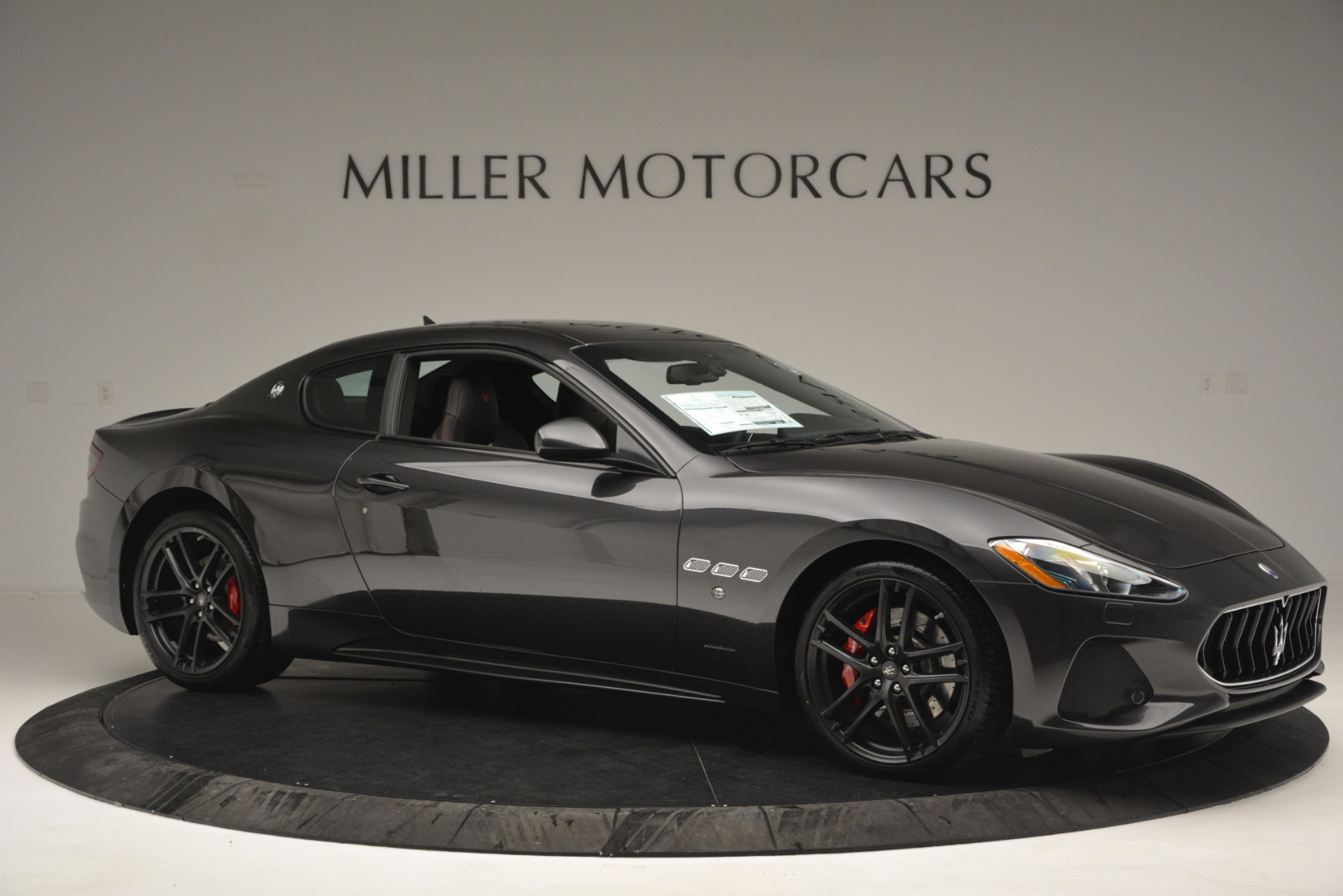 New 2018 Maserati GranTurismo Sport For Sale In Westport, CT 2621_p9