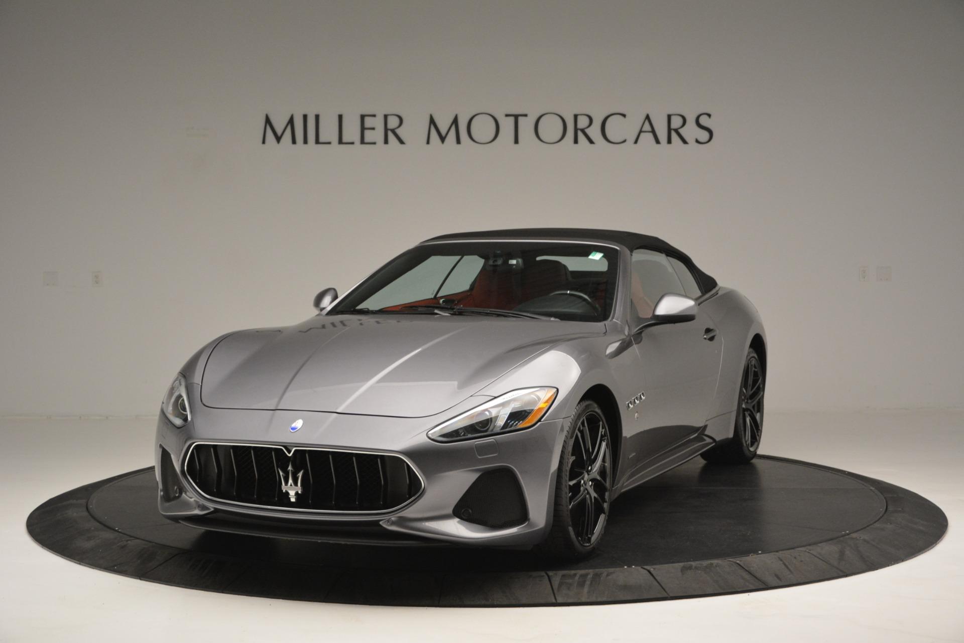 Used 2018 Maserati GranTurismo Sport For Sale In Westport, CT 2637_p10