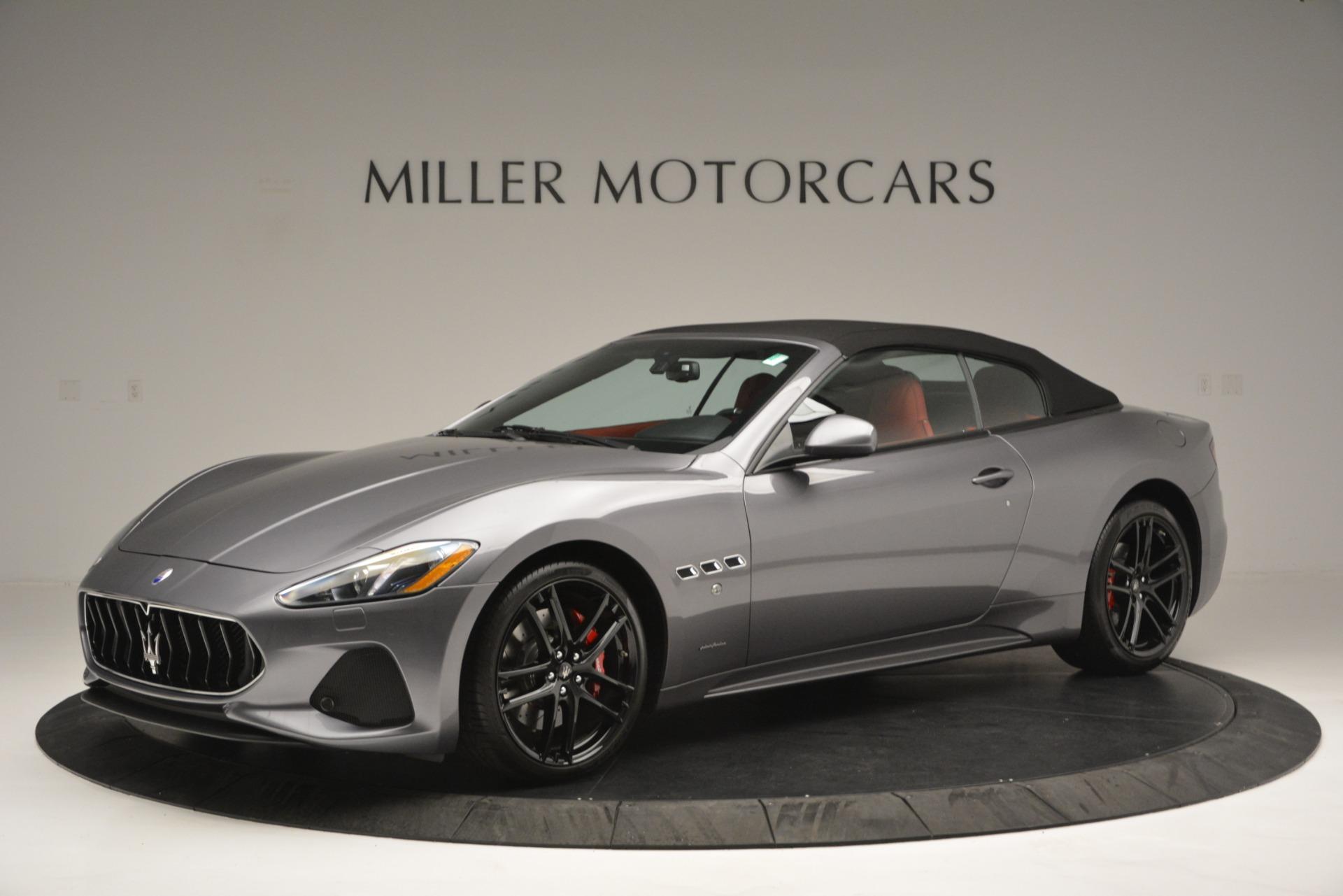 Used 2018 Maserati GranTurismo Sport For Sale In Westport, CT 2637_p12