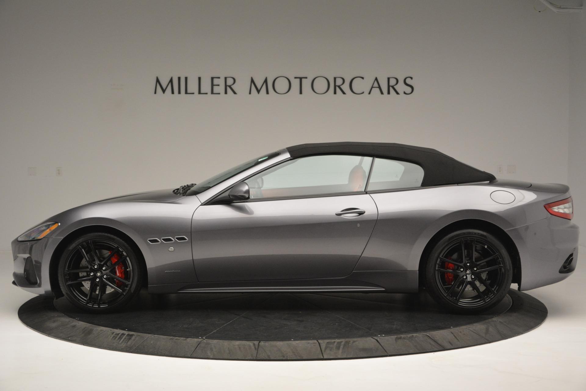 Used 2018 Maserati GranTurismo Sport For Sale In Westport, CT 2637_p13