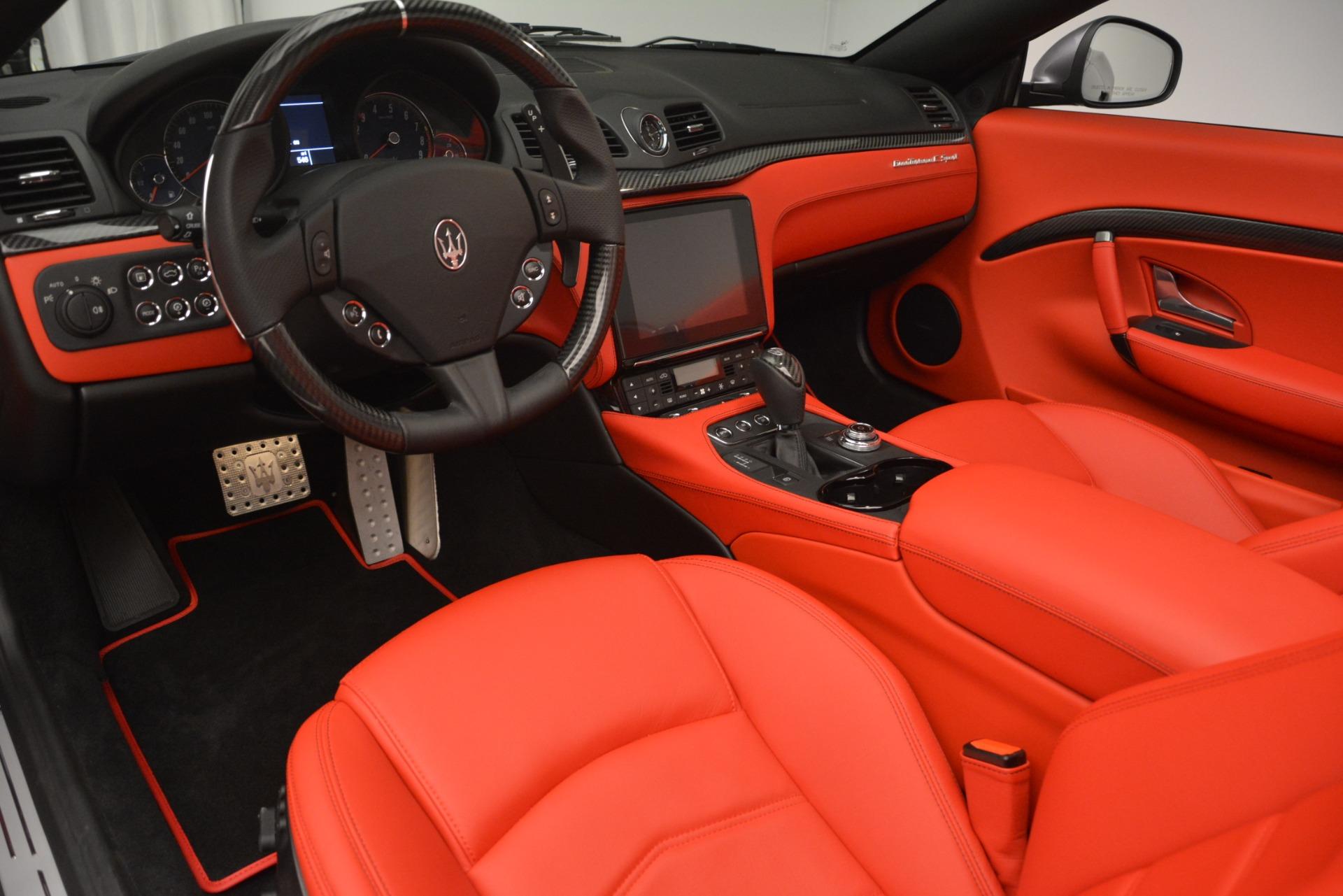 Used 2018 Maserati GranTurismo Sport For Sale In Westport, CT 2637_p22