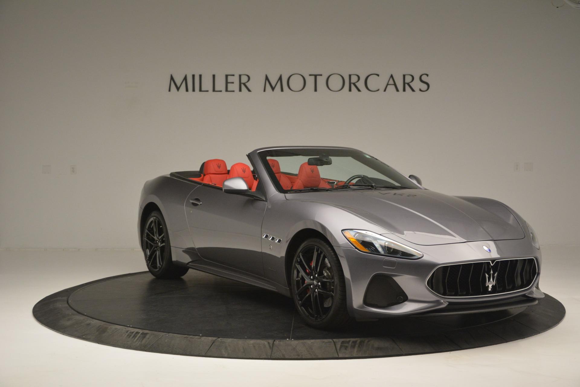Used 2018 Maserati GranTurismo Sport For Sale In Westport, CT 2637_p9