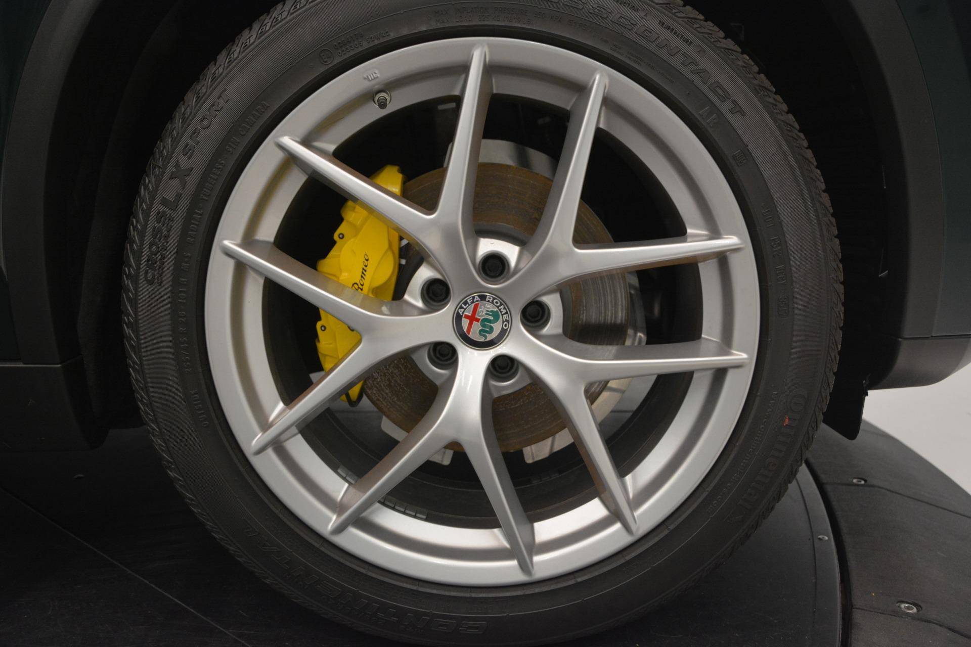 New 2019 Alfa Romeo Stelvio Ti Sport Q4 For Sale In Westport, CT 2651_p26