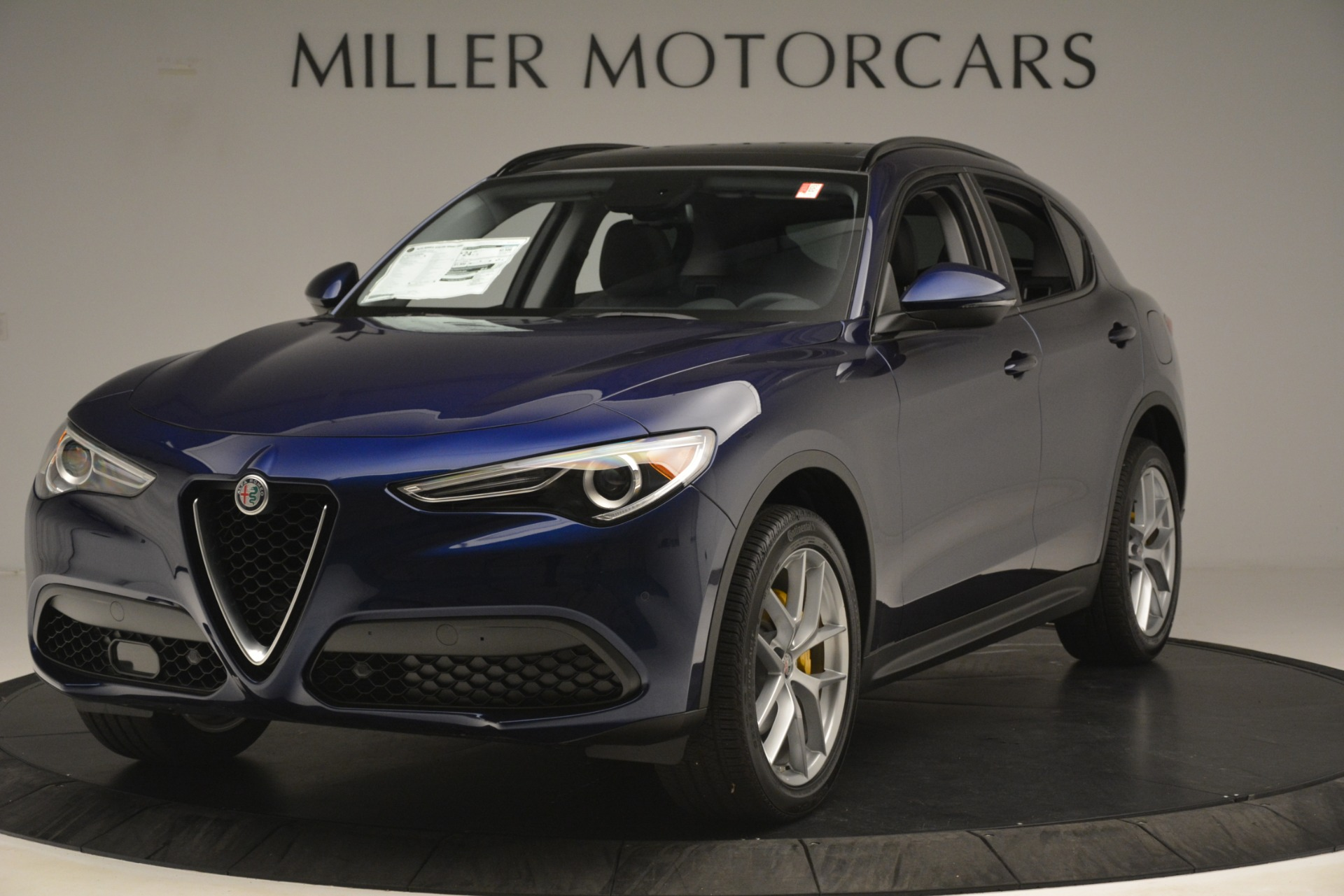 New 2019 Alfa Romeo Stelvio SPORT AWD For Sale In Westport, CT 2652_main