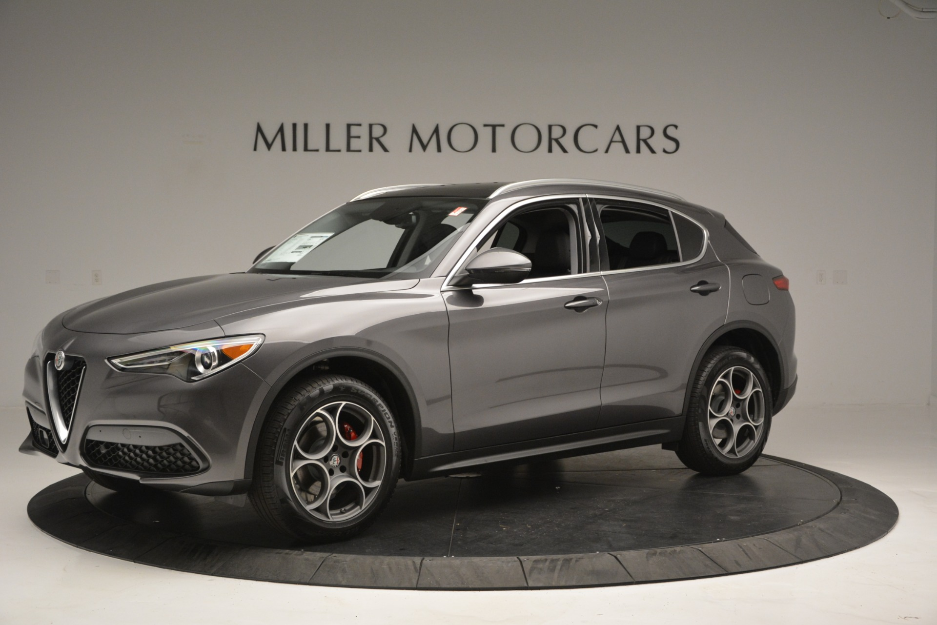 New 2019 Alfa Romeo Stelvio Q4 For Sale In Westport, CT 2653_p2