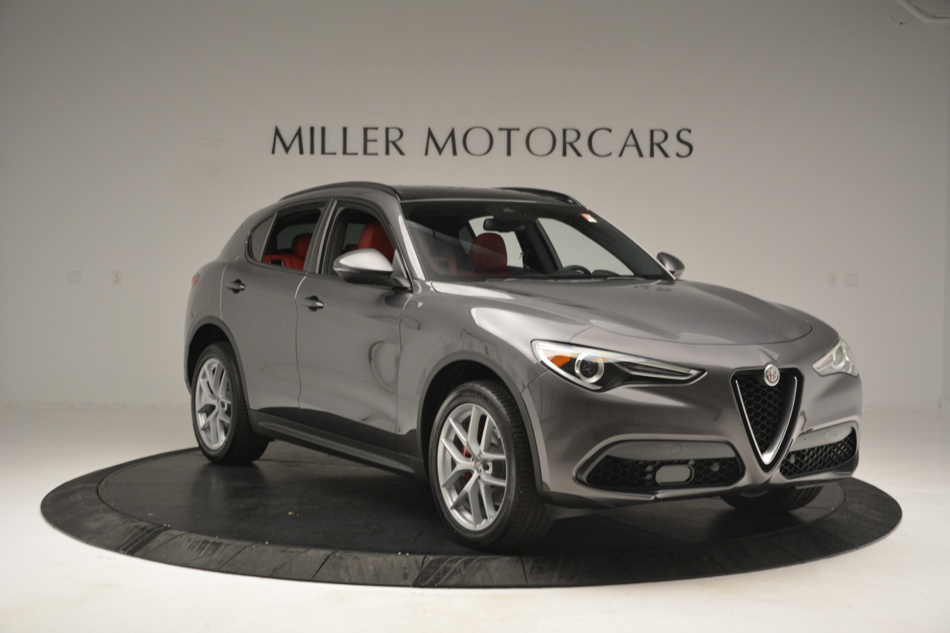 New 2019 Alfa Romeo Stelvio Ti Sport Q4 For Sale In Westport, CT 2656_p11