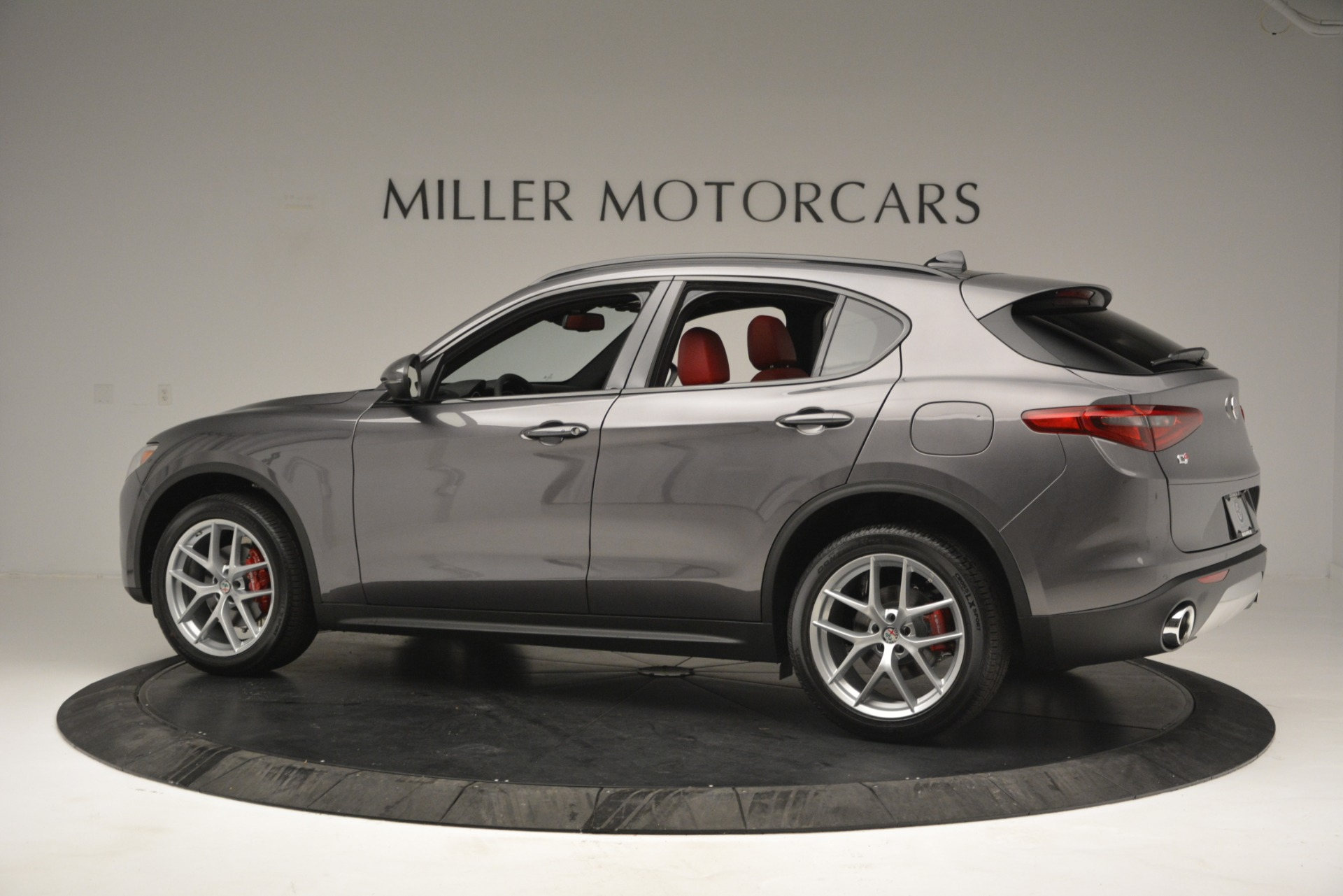 New 2019 Alfa Romeo Stelvio Ti Sport Q4 For Sale In Westport, CT 2656_p4