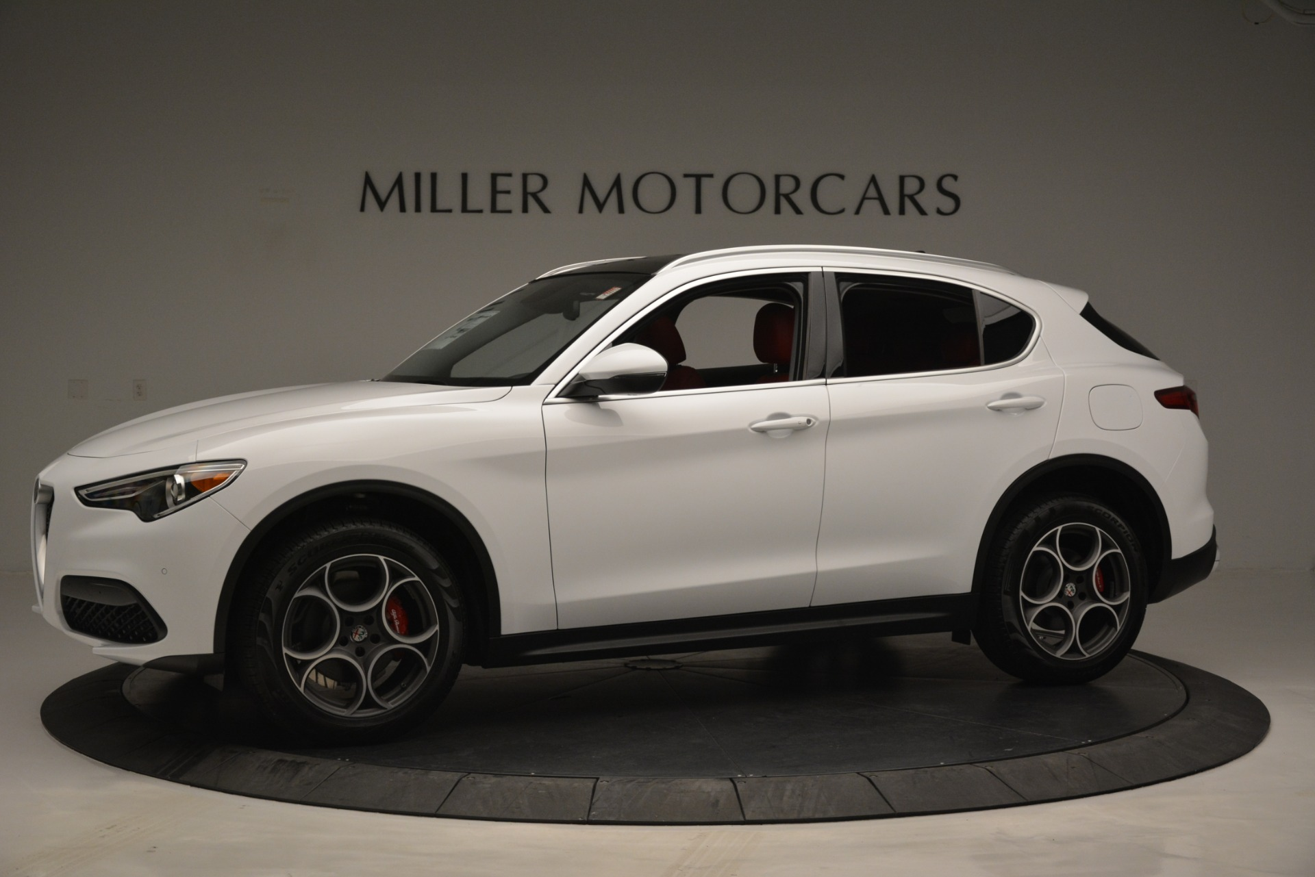 New 2019 Alfa Romeo Stelvio Q4 For Sale In Westport, CT 2657_p2