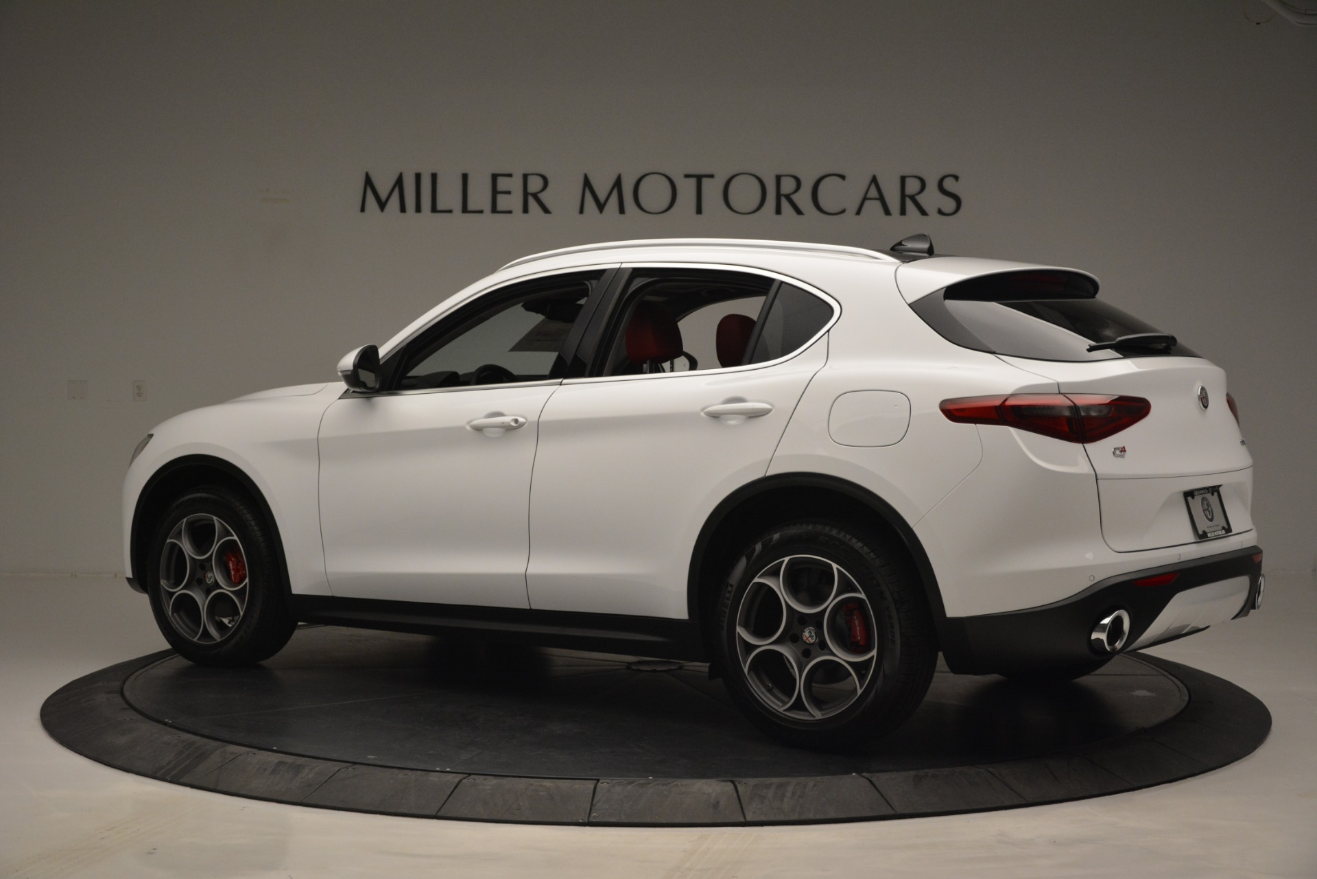 New 2019 Alfa Romeo Stelvio Q4 For Sale In Westport, CT 2657_p4